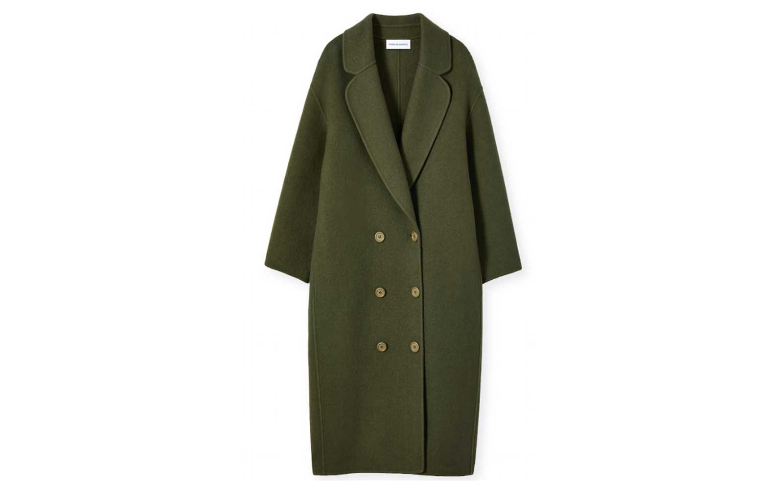 Wool overcoat by Mansur Gavriel