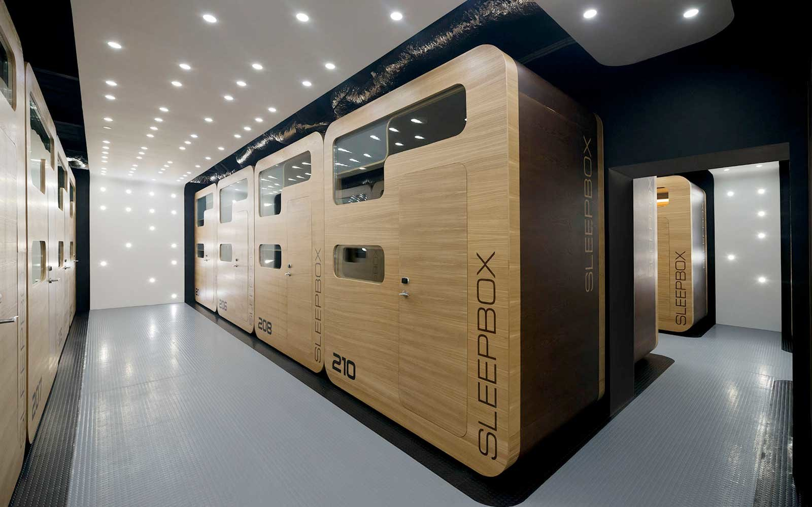 Box Room Beds Box Room: These Airport Nap Pods Are Like Tiny Hotel Rooms For Tired