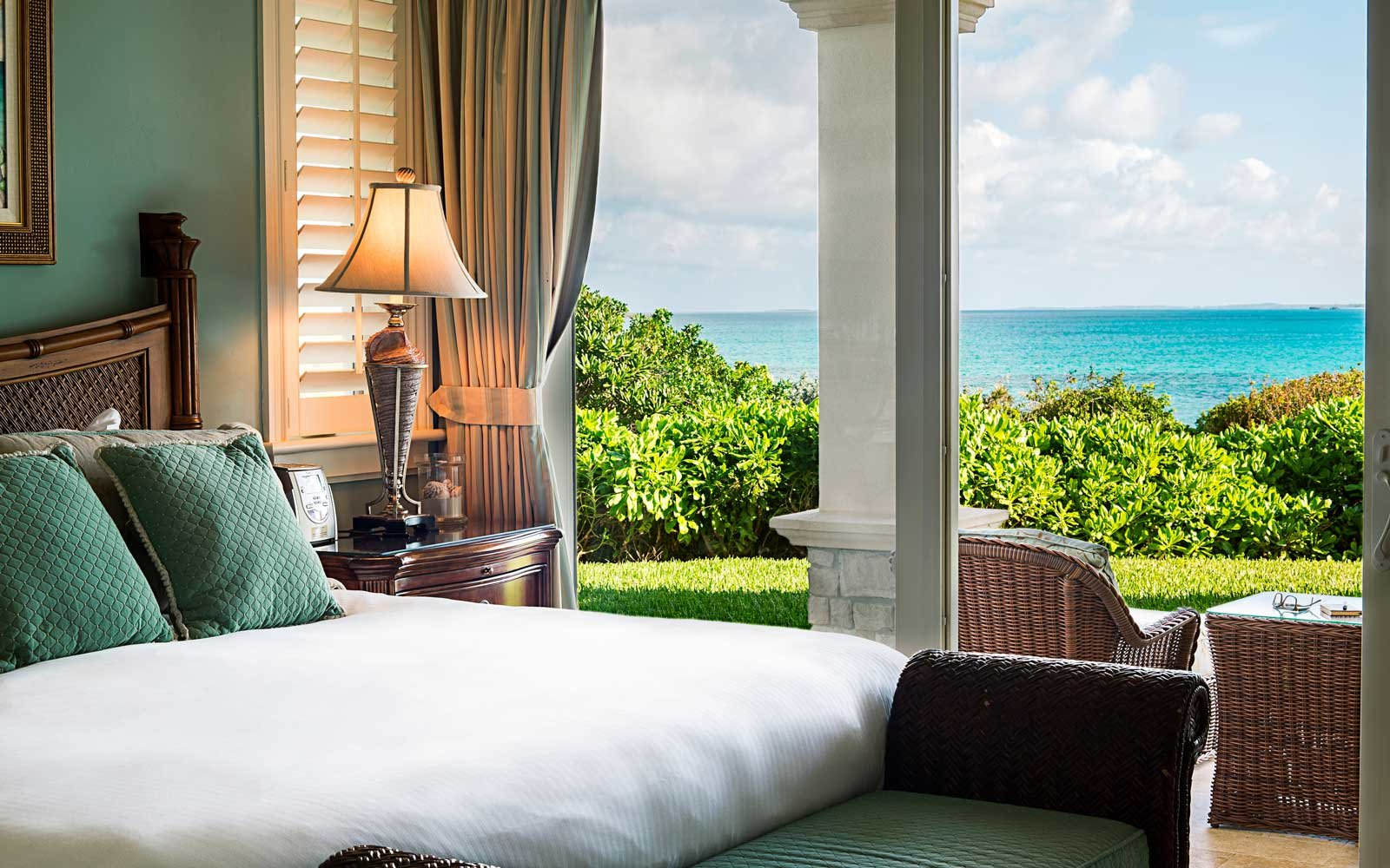 Guest room at the Grand Isle Resort & Spa