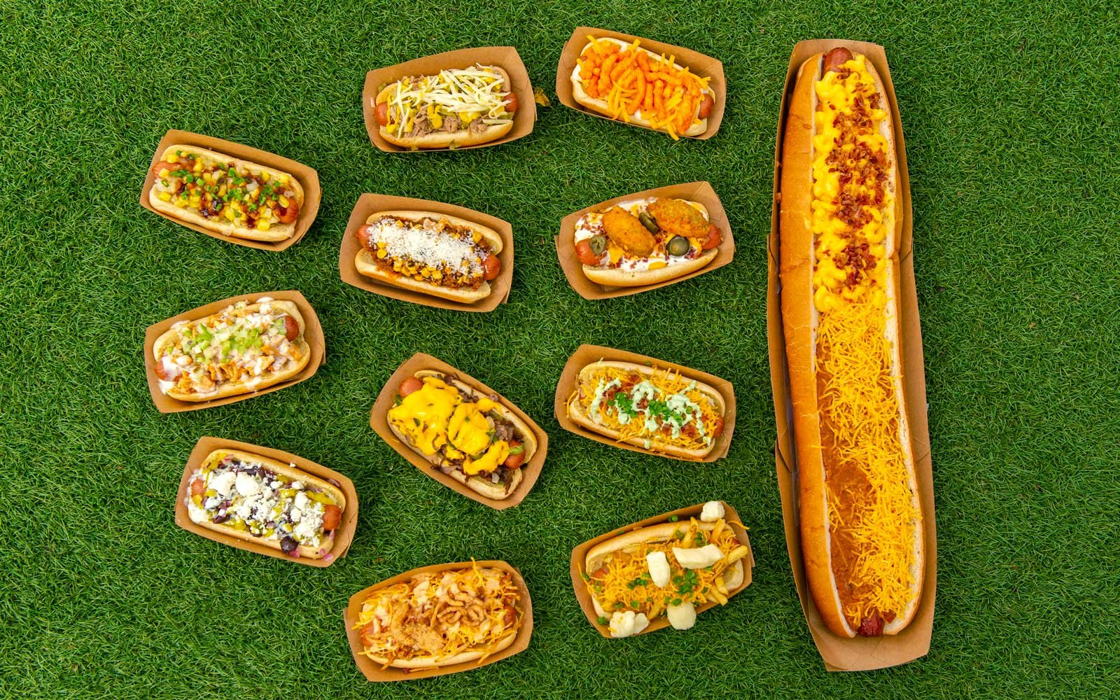 Take part in a hot dog advent calendar.
