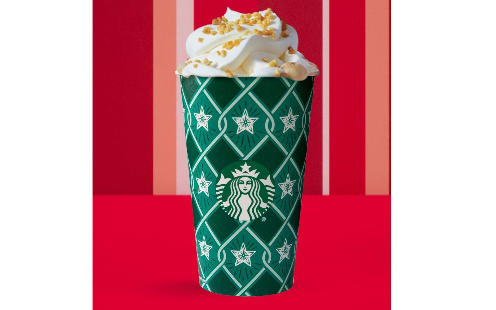 Toffee Nut Crunch Latte (China, Asia Pacific, Latin America, Europe)