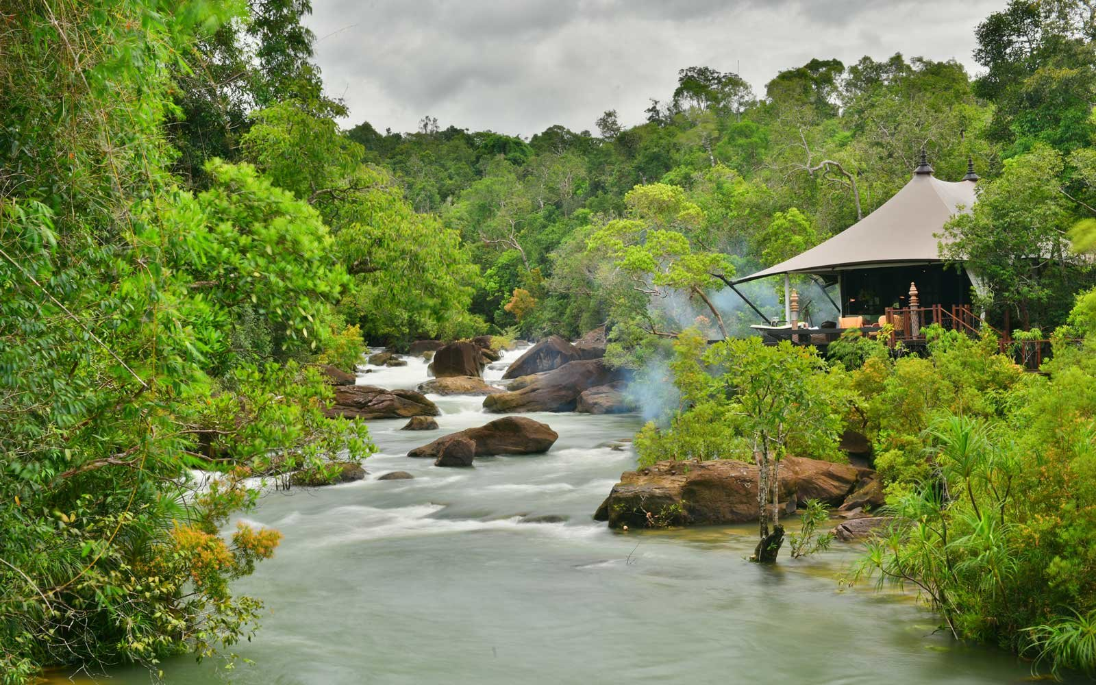 The Shinta Mani Wild Lodge in Cambodia