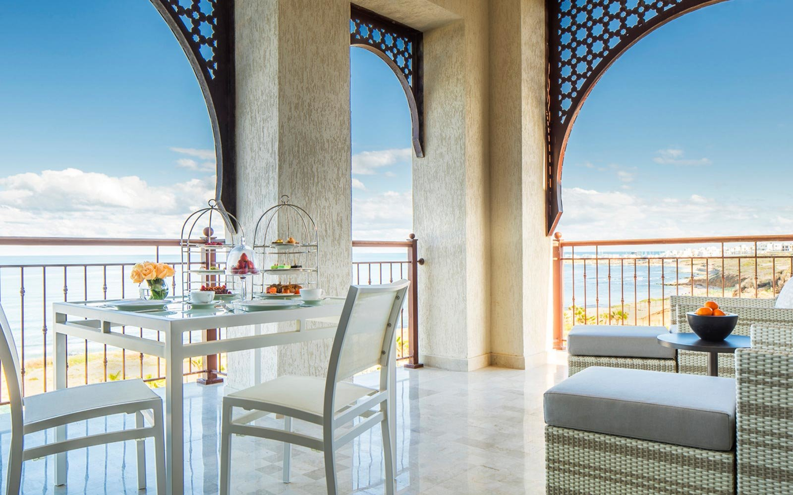 Balcony of the Four Seasons Hotel Tunis