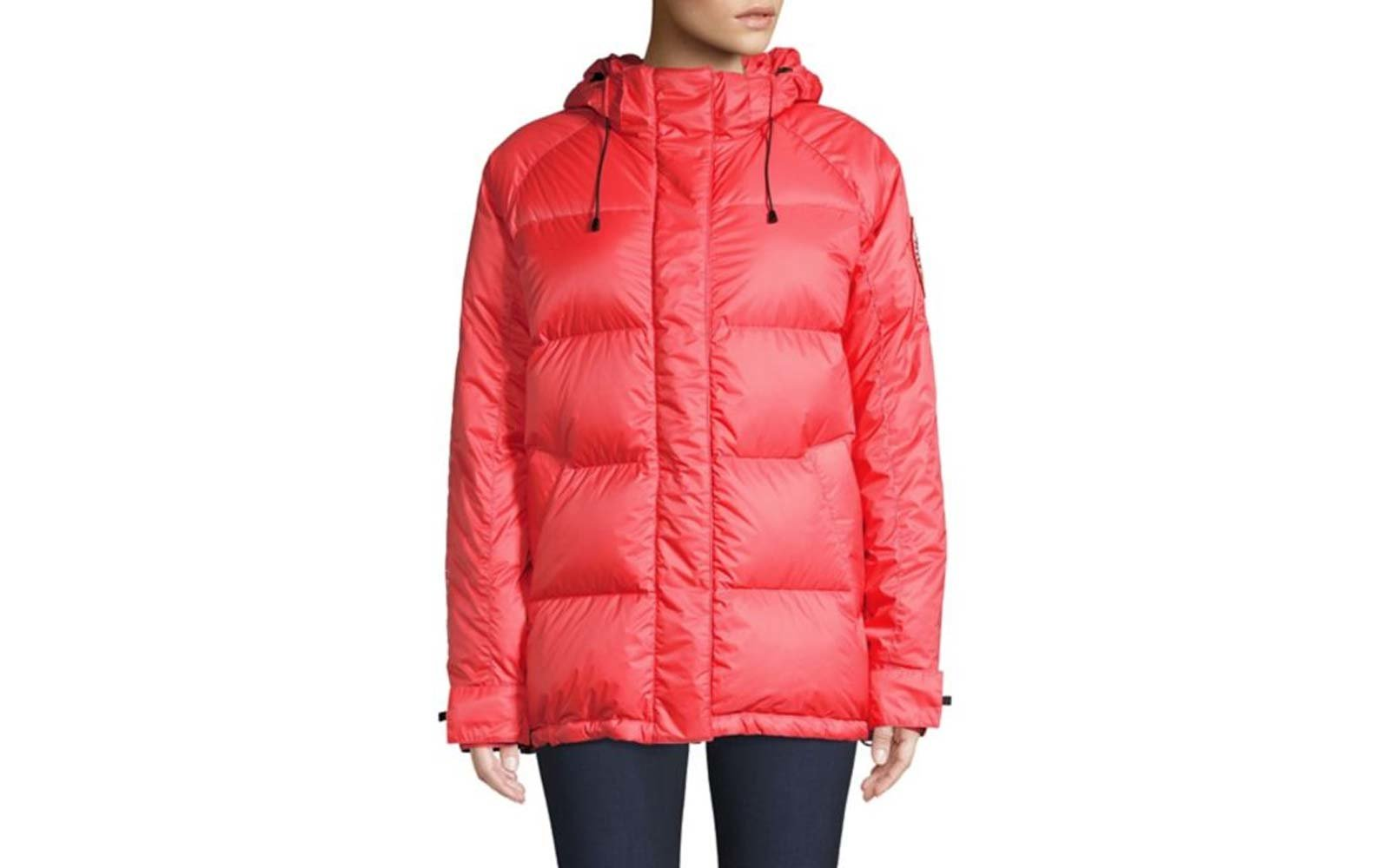 Canada Goose's Approach Jacket in Red