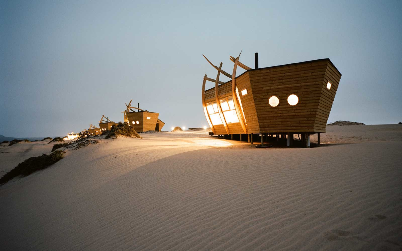 Shipwreck Lodge in Namibia