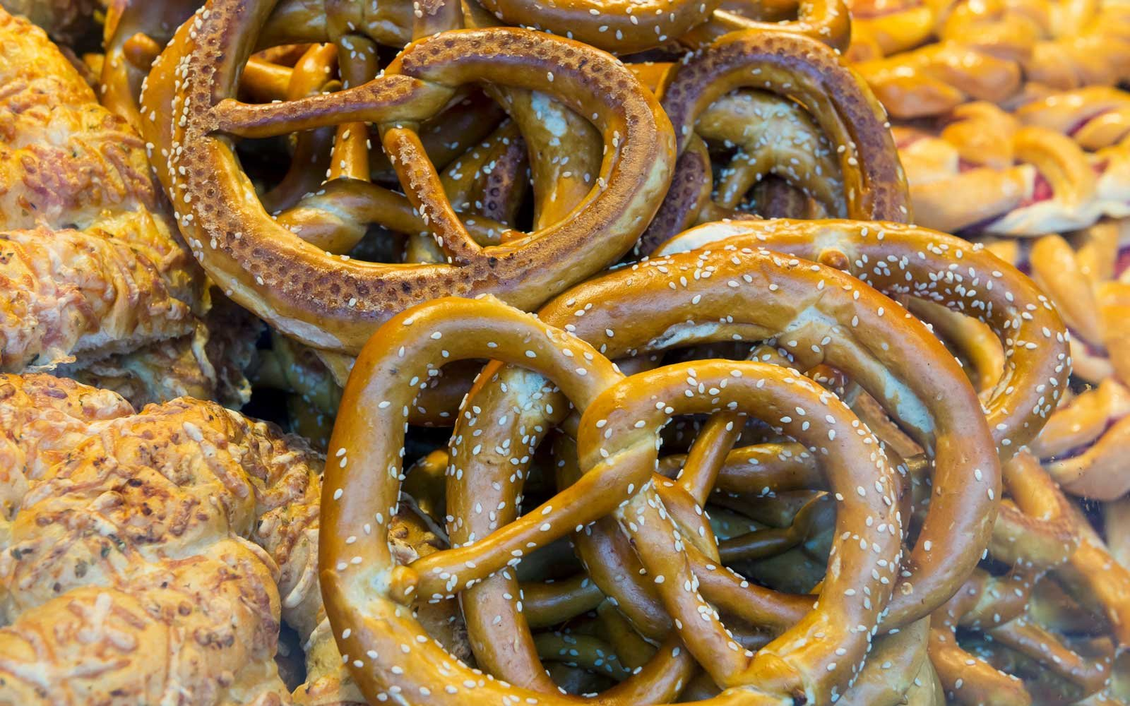 Pretzels have become a popular treat found at Christmas markets across Europe in countries that range from Germany and France to Italy and London.