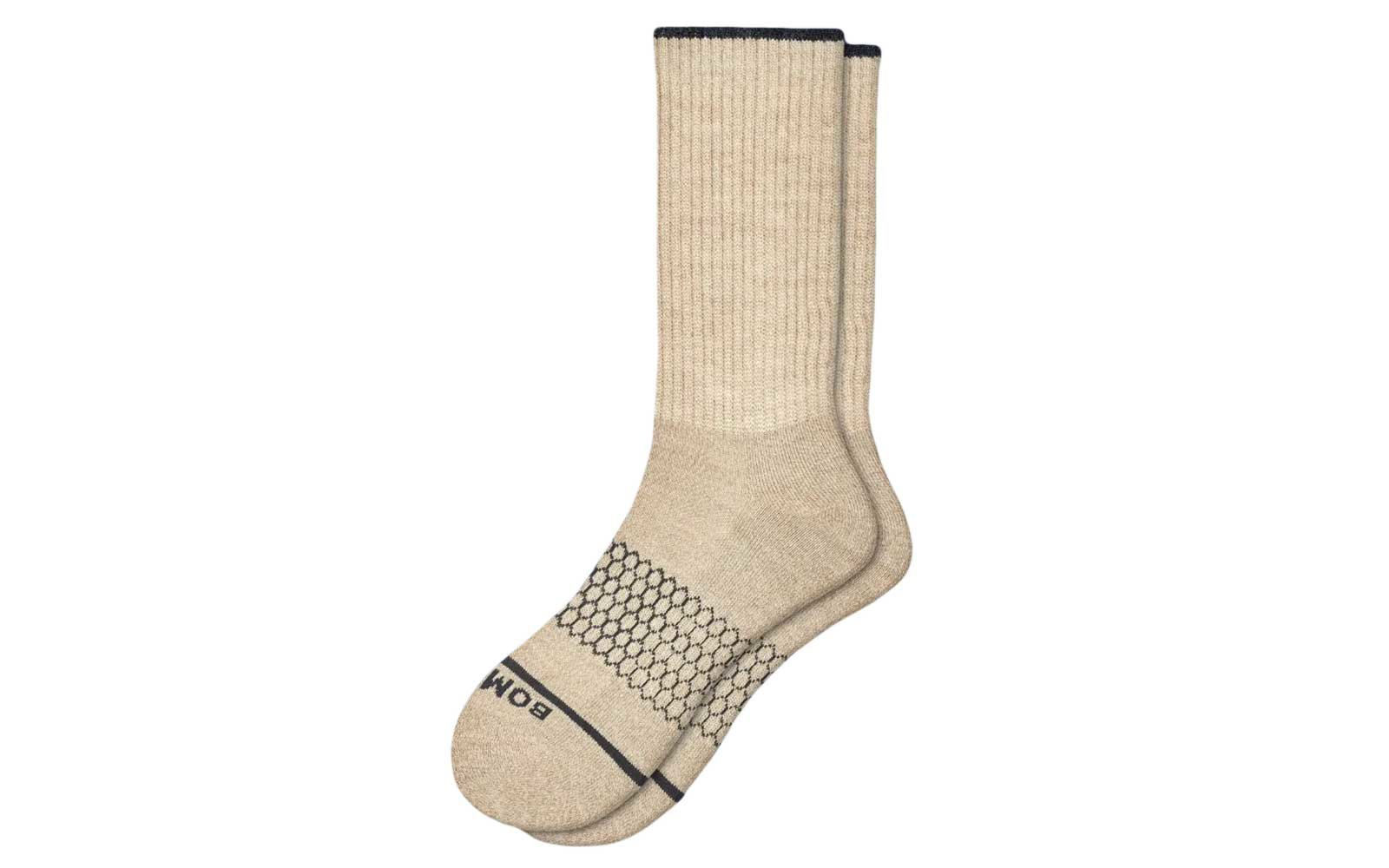 Best Socks for Staying Up: Bombas Merino Wool Calf Socks