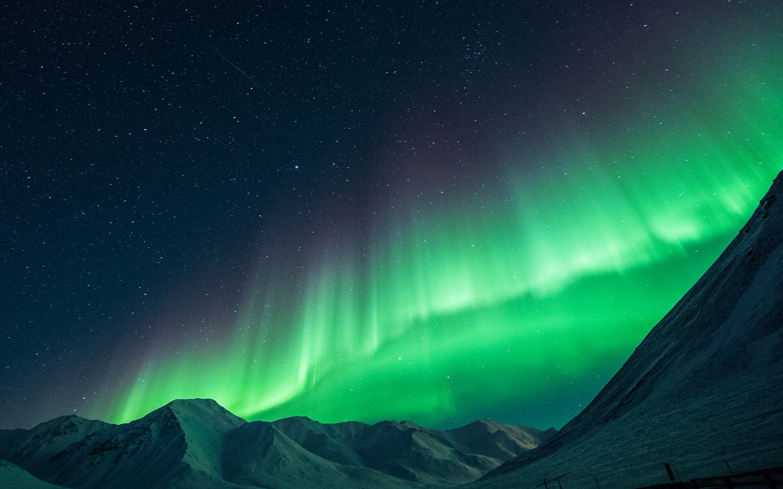 Northern Lights in Coldfoot, Alaska