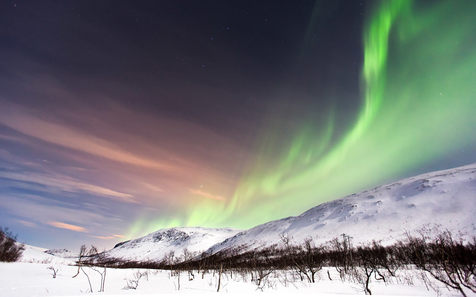 Northern Lights in Kirkenes, Norway