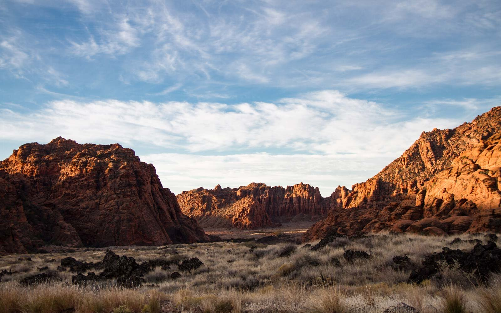 Snow Canyon State Park near St George, Utah