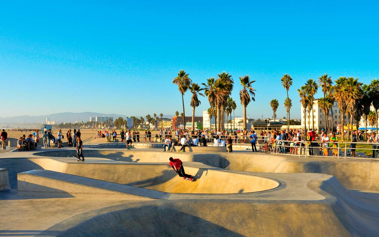 Skatepark of Venice Beach in Venice, California