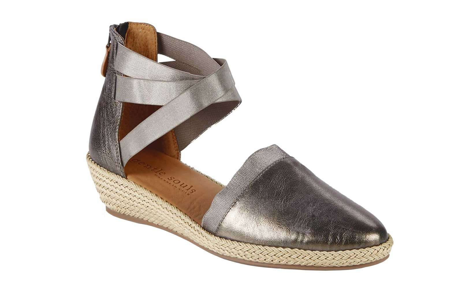 Metallic wedges from Gentle Souls by Kenneth Cole