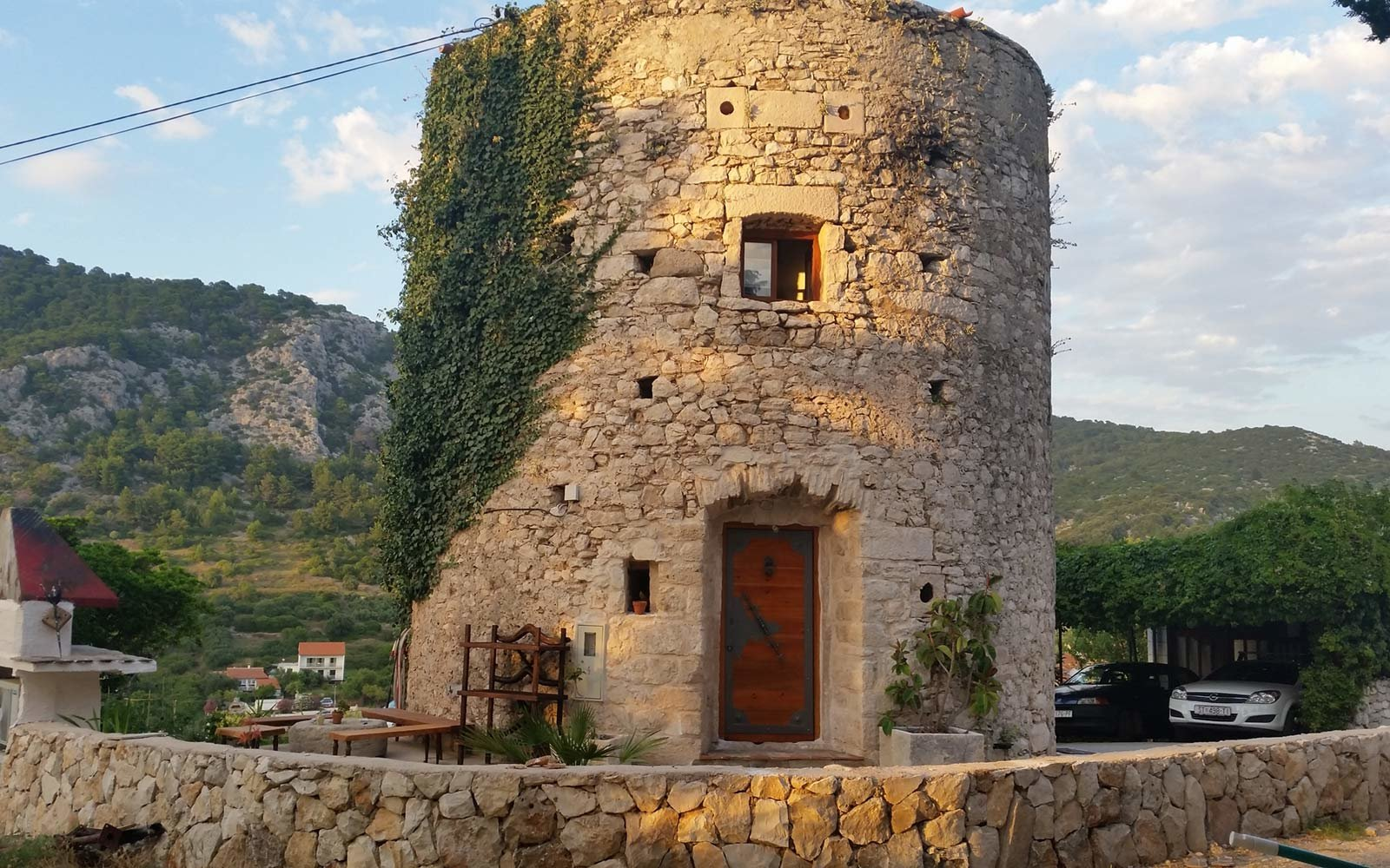 Hvar Old Tower in the Historical Center