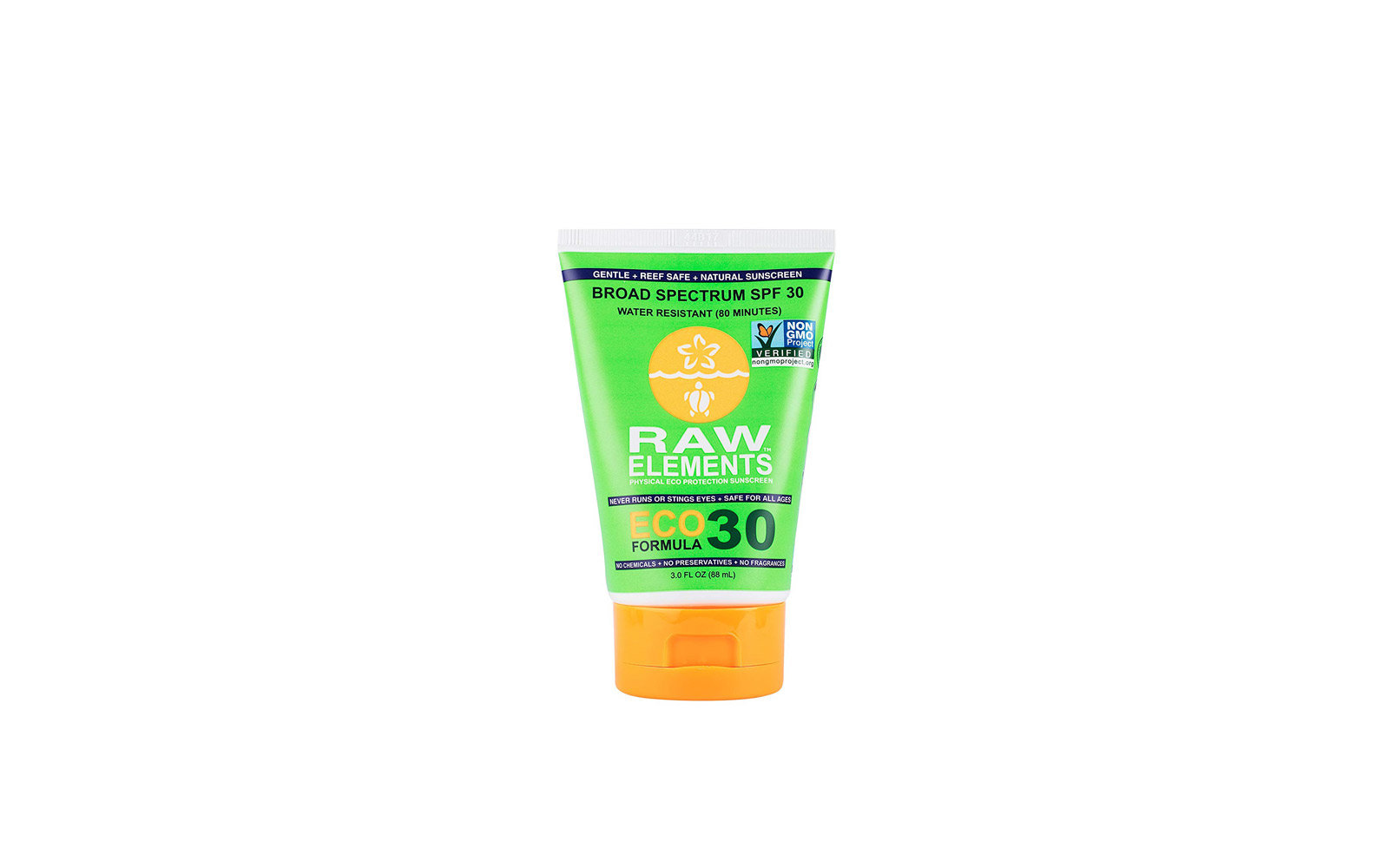 38. Raw Elements Certified Natural Sunscreen