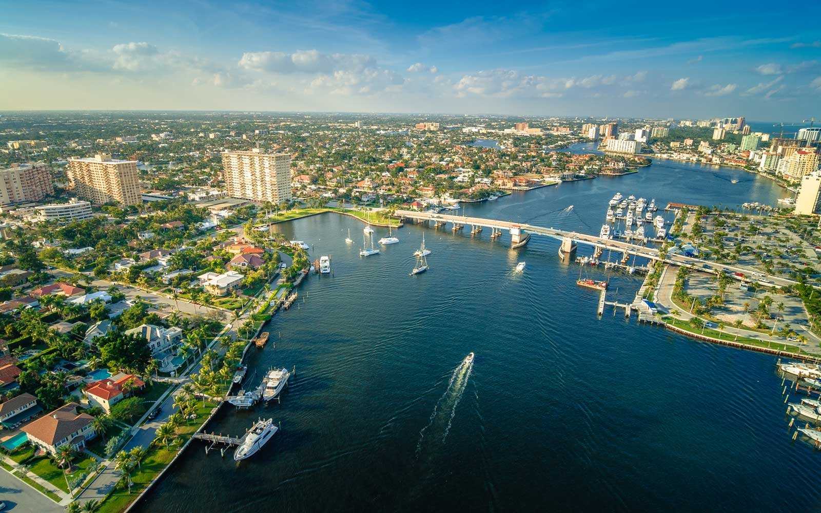Fort Lauderdale, Florida Intercoastal waterway