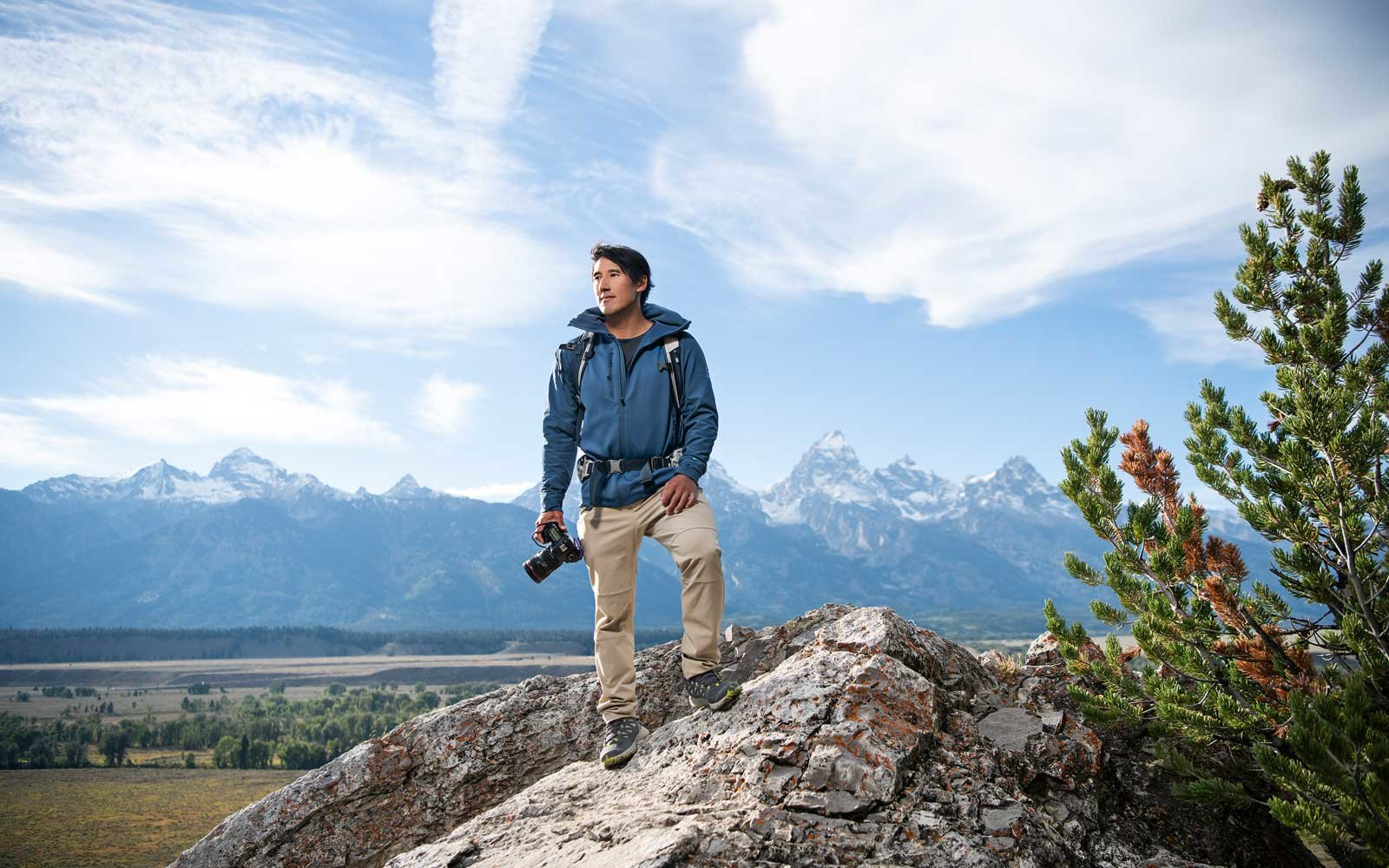 Jimmy Chin shares his tips for capturing magnificent adventure photographs.