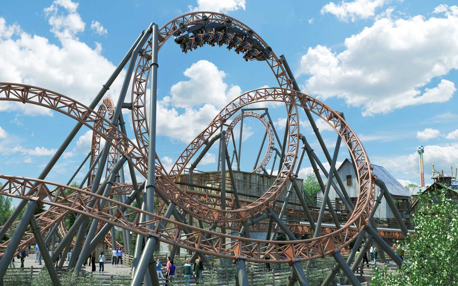 Copperhead Strike coaster coming to Carowinds