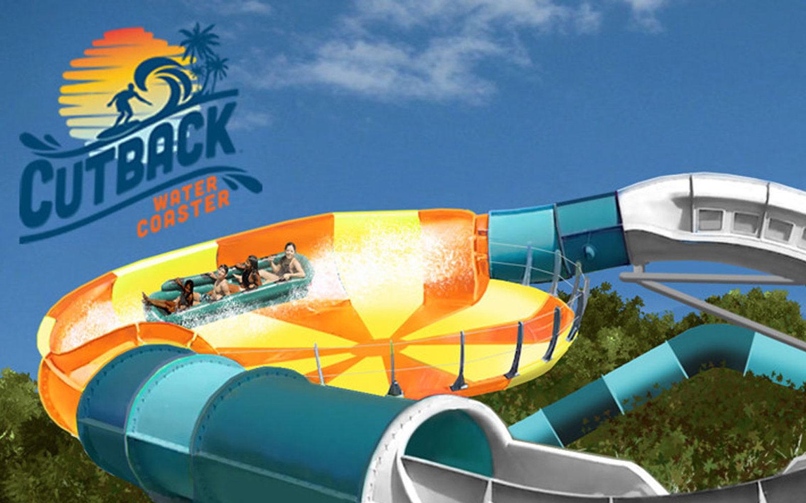 Cutback water coaster coming to Water Country USA