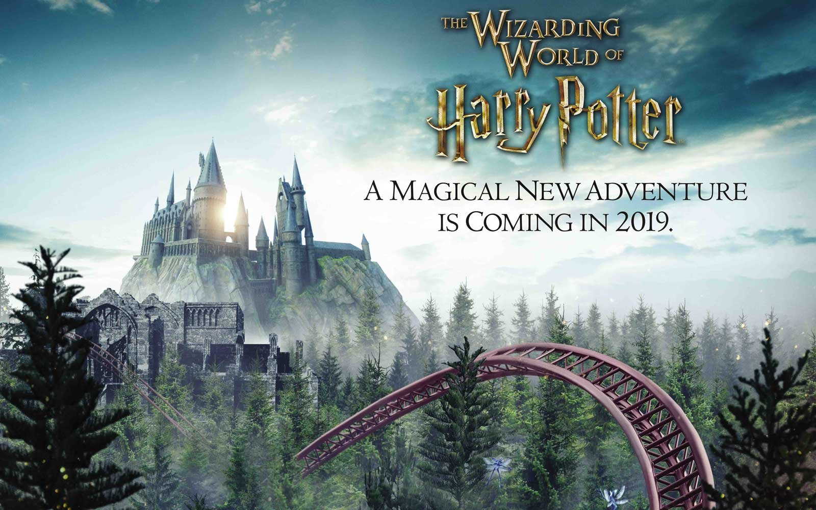 Harry Potter Coaster coming to Universal Islands of Adventure