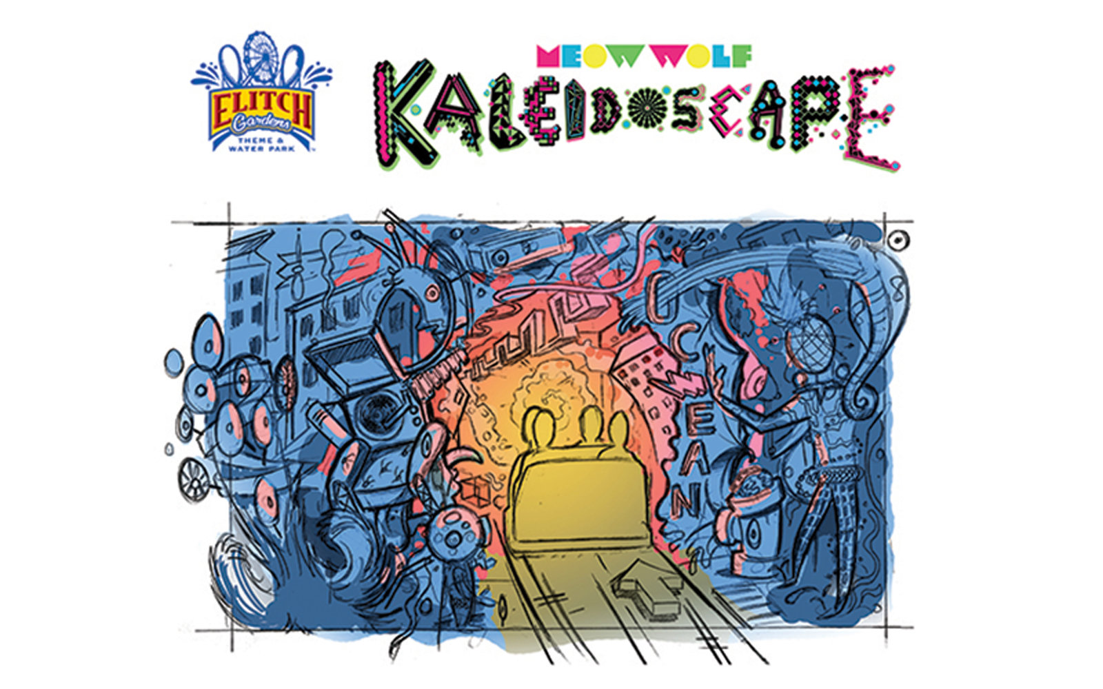 Meow Wolf's Kaleidoscope coming to Denver's Elitch Gardens