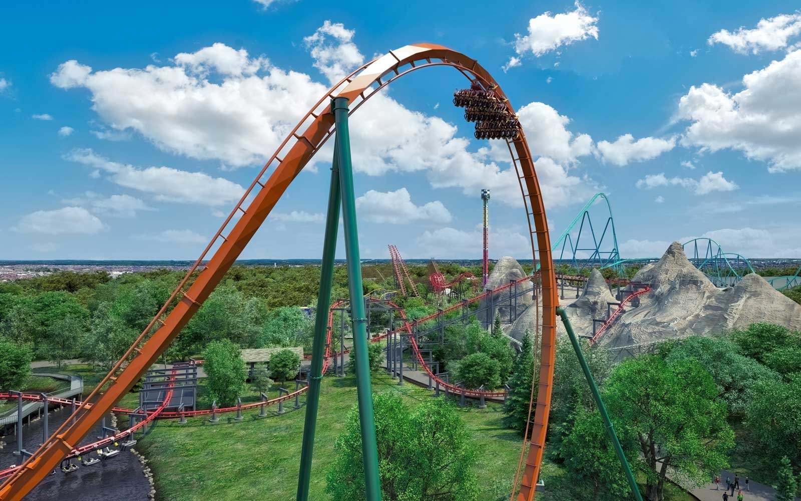 New Yukon Striker coaster at Canada's Wonderland