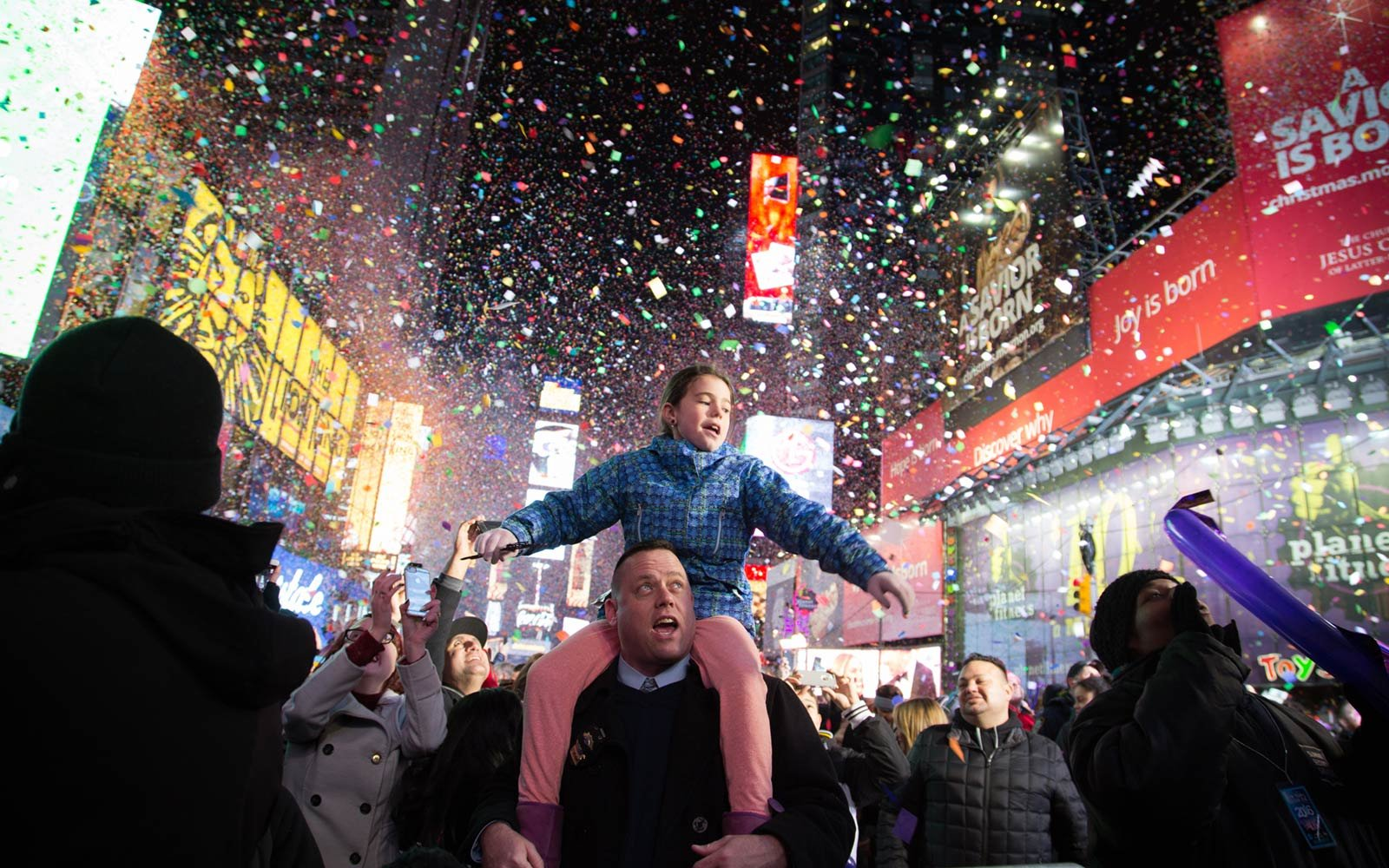 new york city times square new years eve celebration
