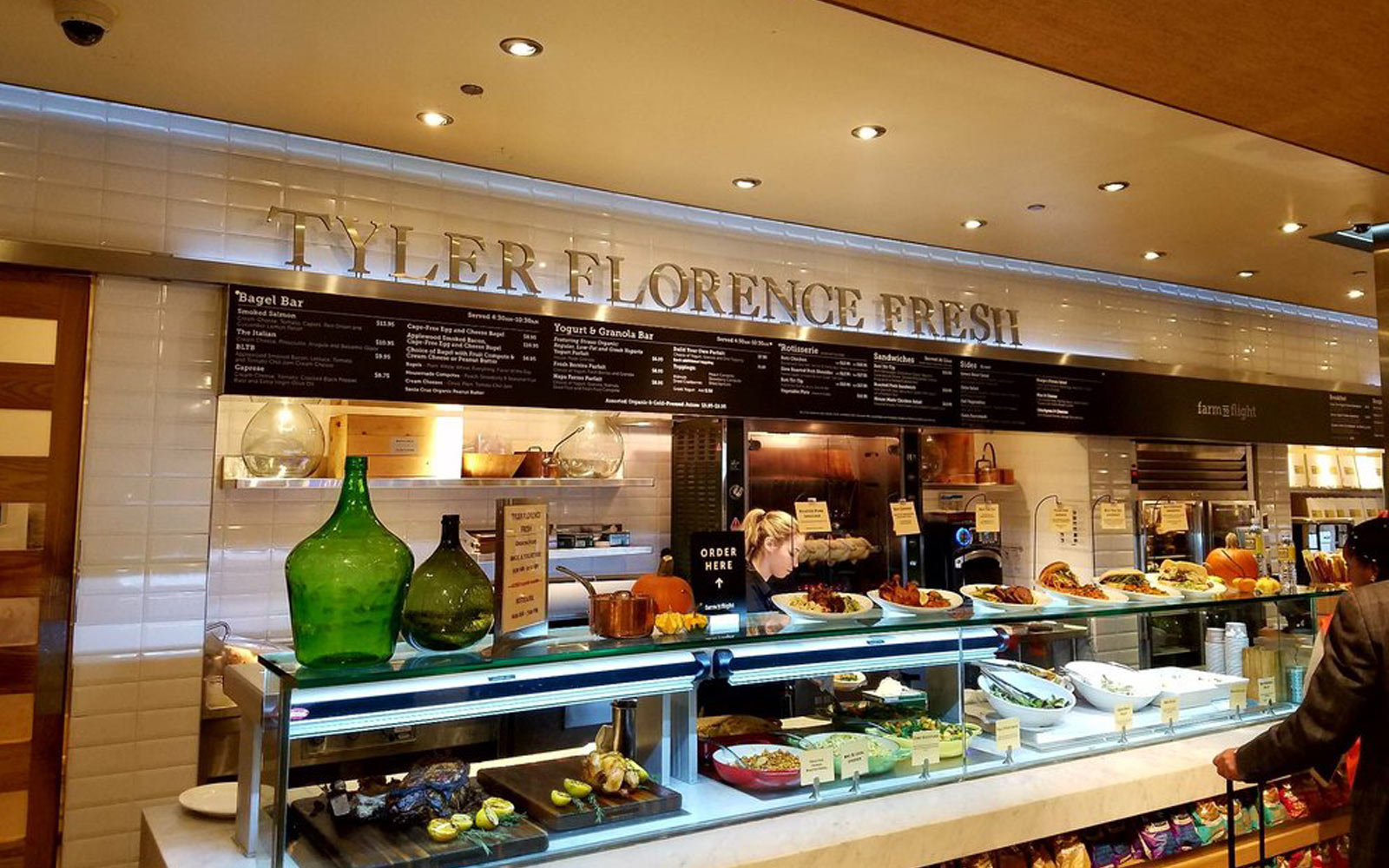 Tyler Florence Rotisserie, San Francisco International Airport, San Francisco
