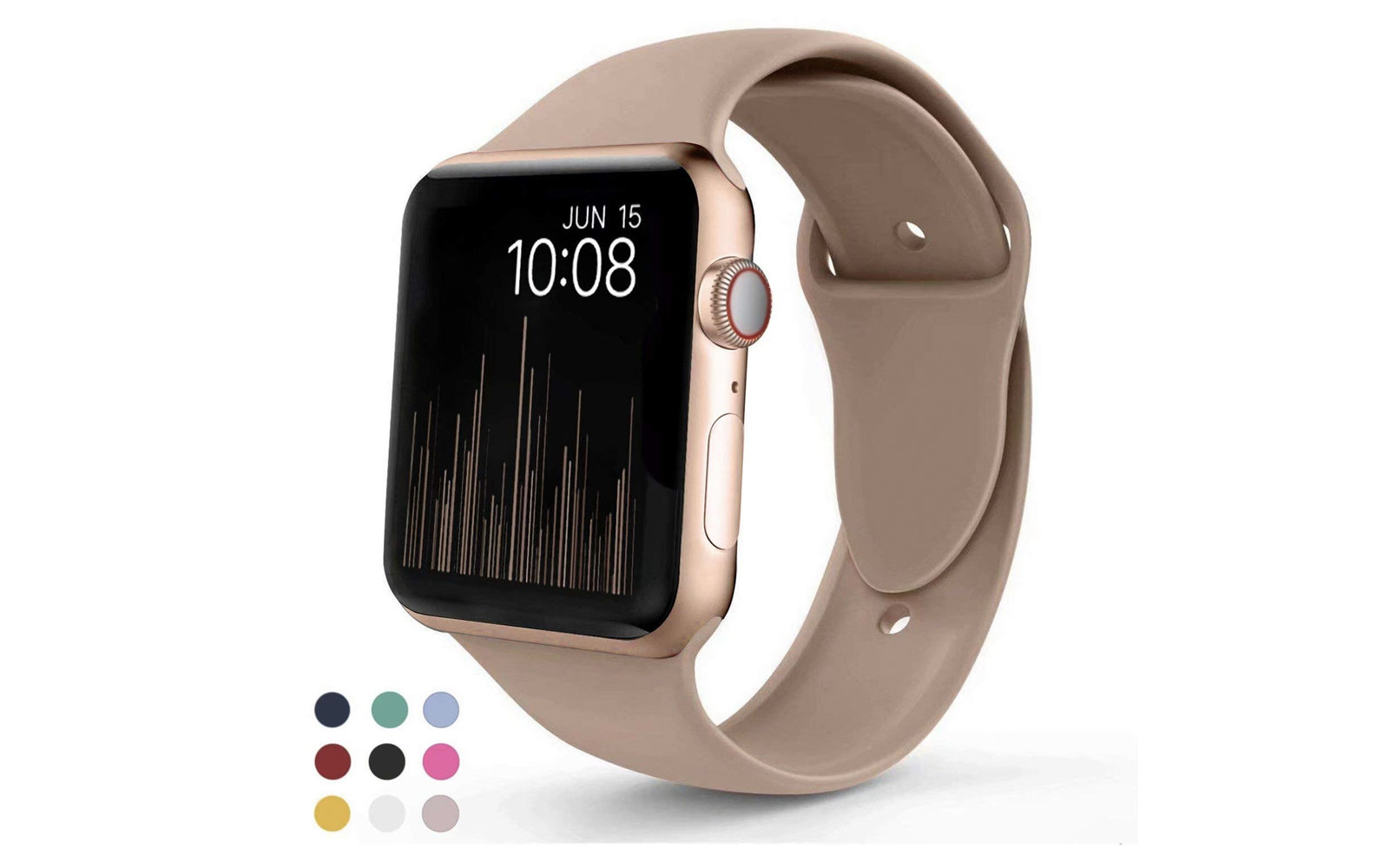 VATI Silicon Apple Watch Sport Band