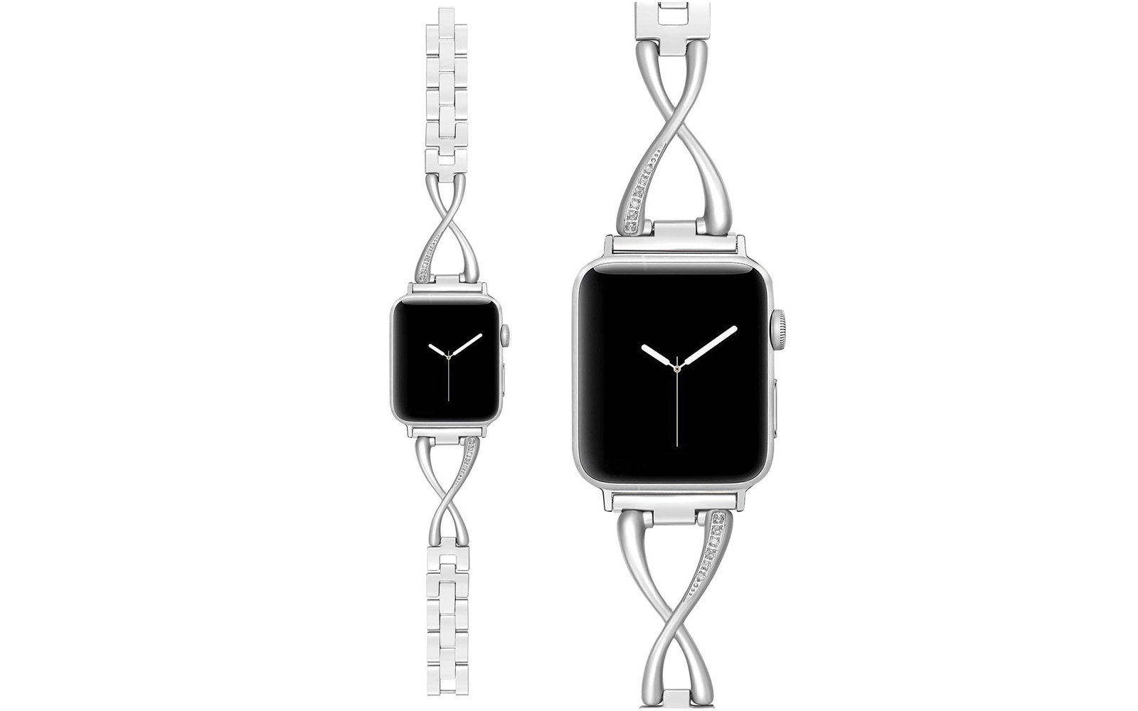 Secbolt Stainless Steel Apple Watch Band for Women