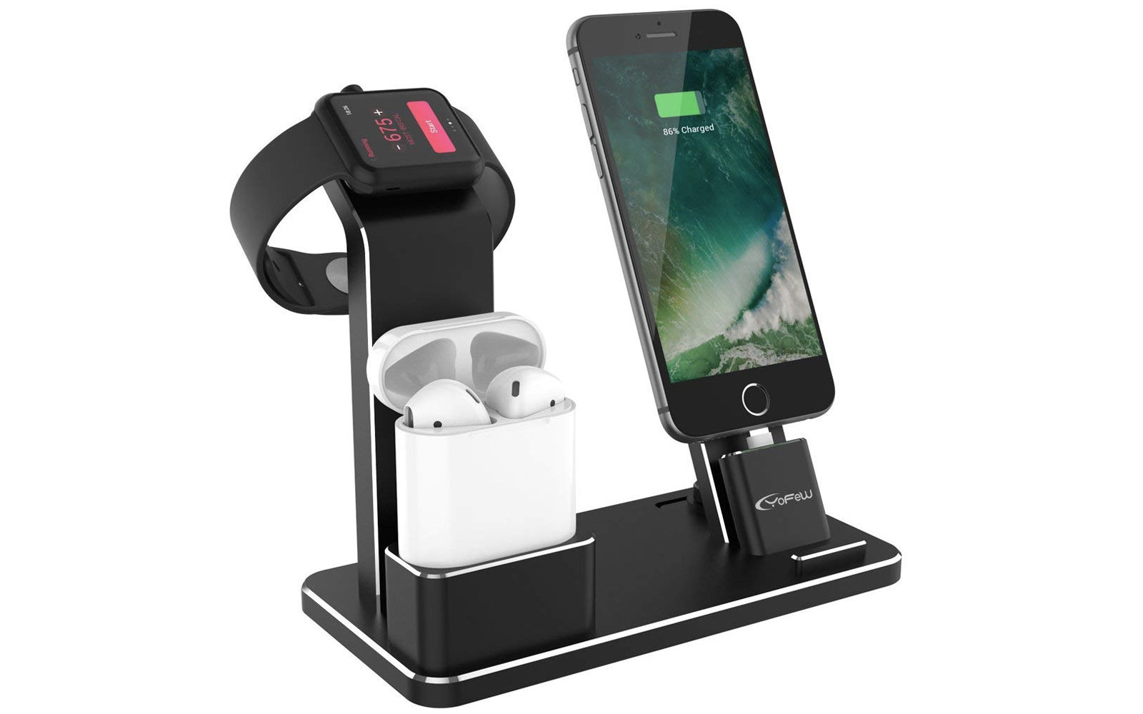 YoFeW Charging Stand for Apple Watch, AirPods, and iPhone