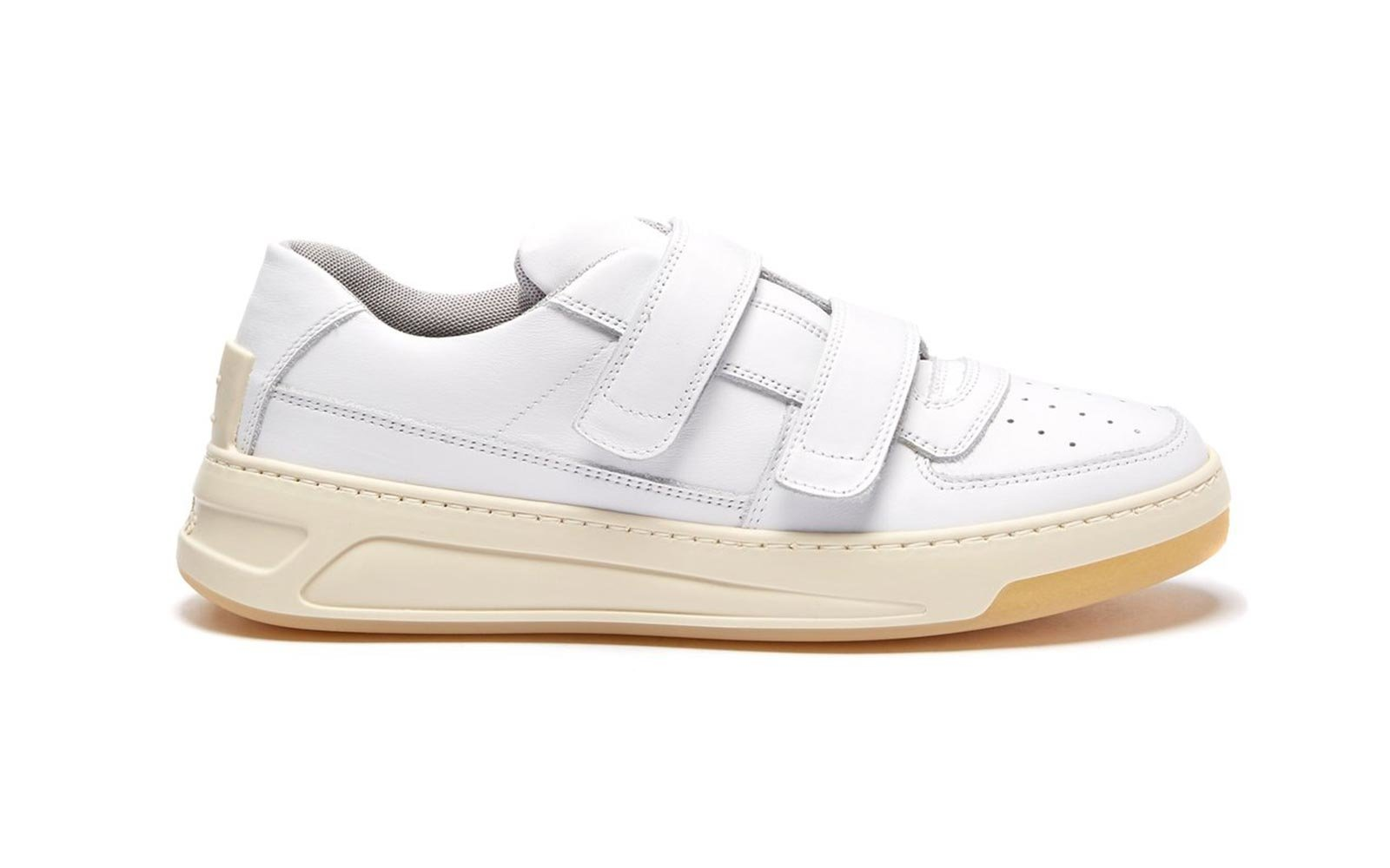 Acne leather sneakers