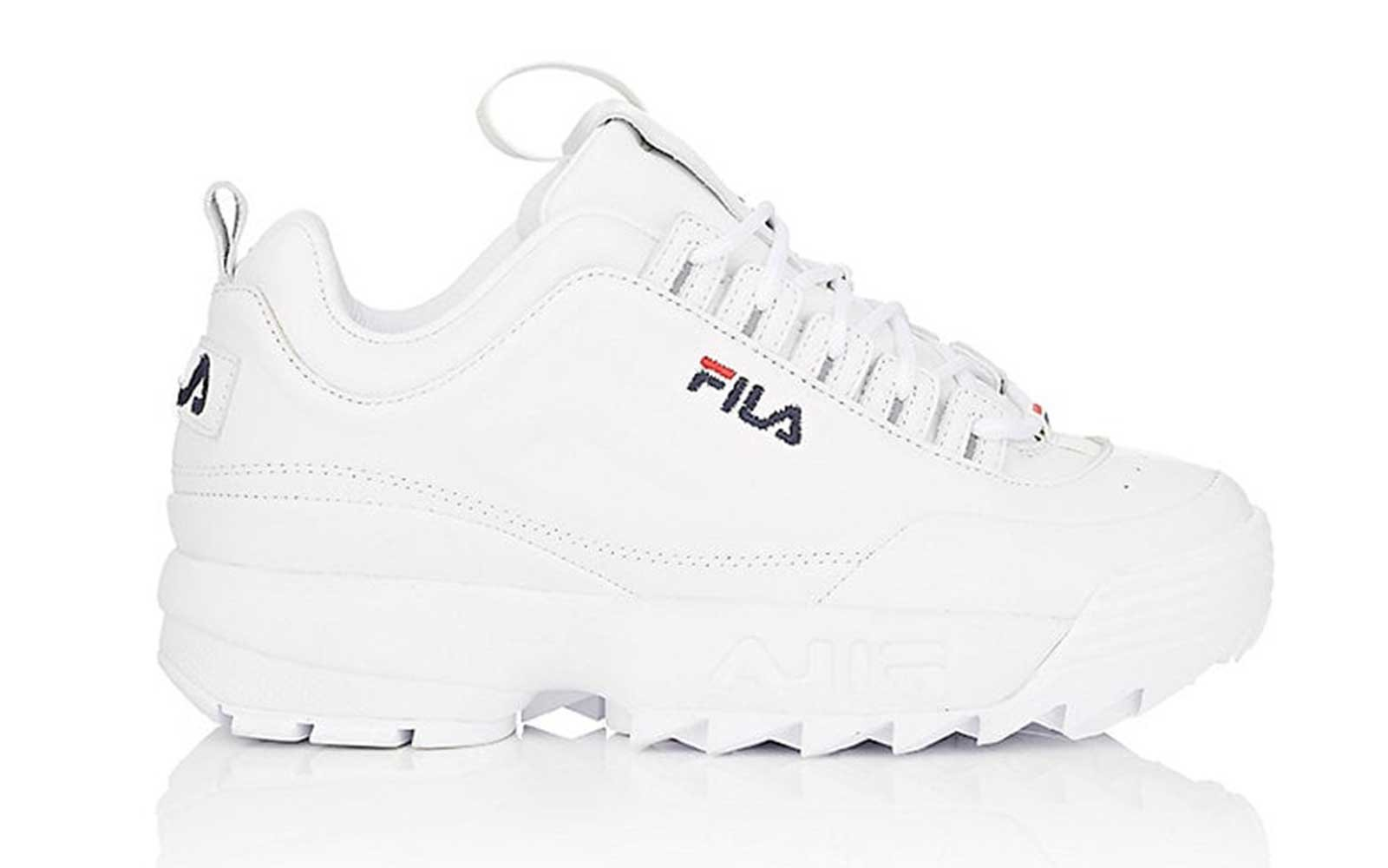 brand new e85e8 18295 Fila Women s Disruptor 2 Lux Leather Sneakers