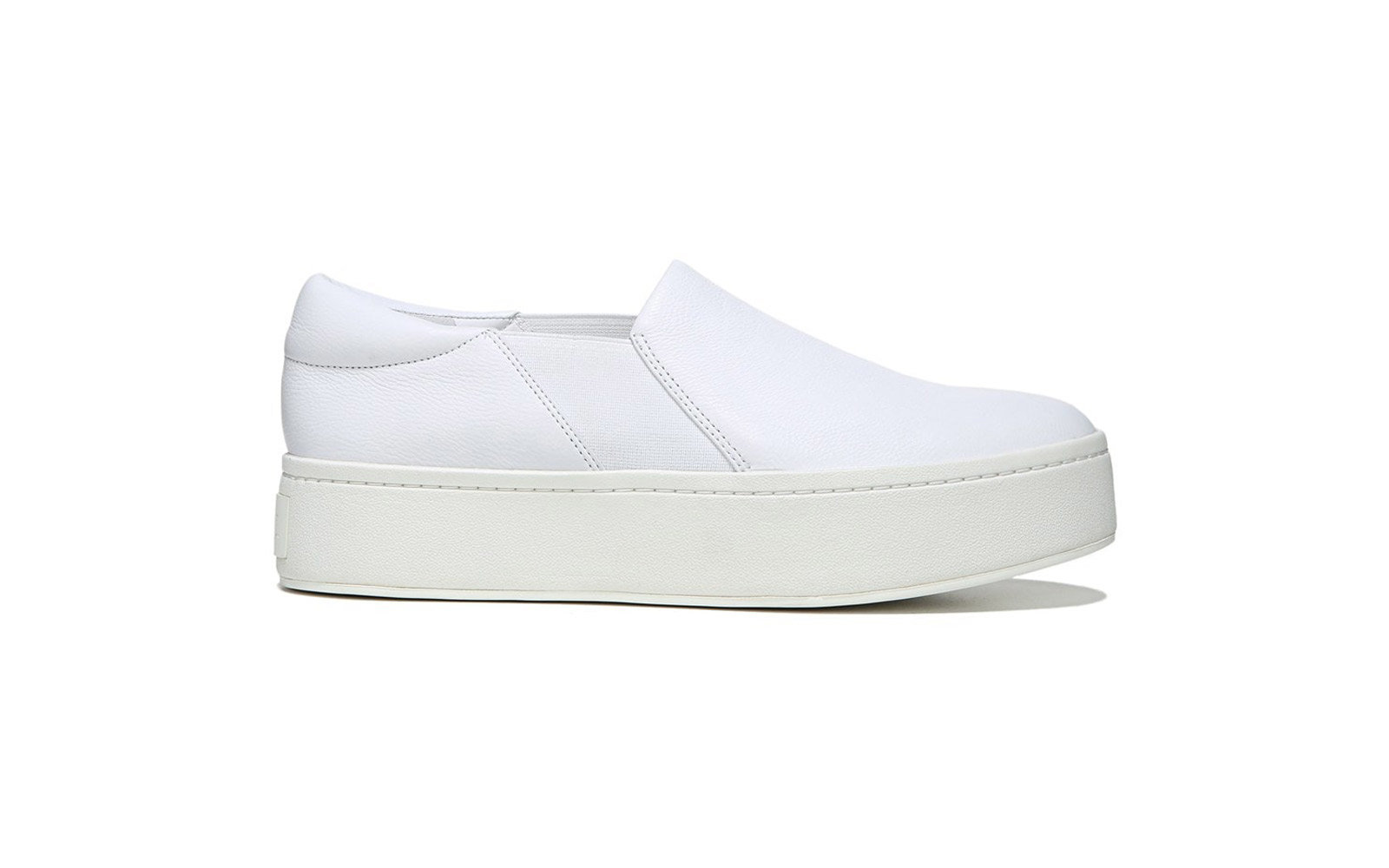 vince white slip on sneakers