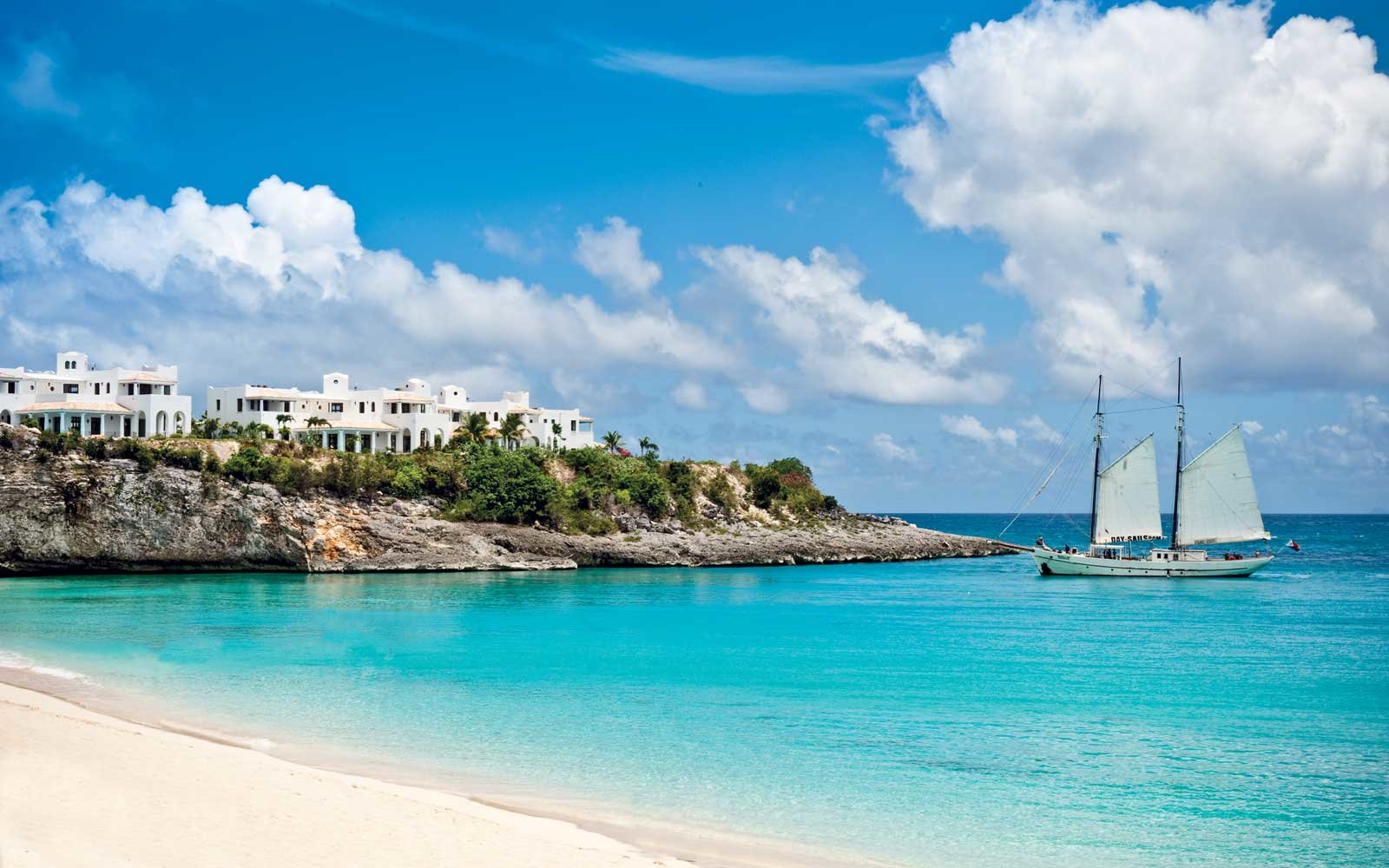 View of the Belmon La Samanna resort in St Martin