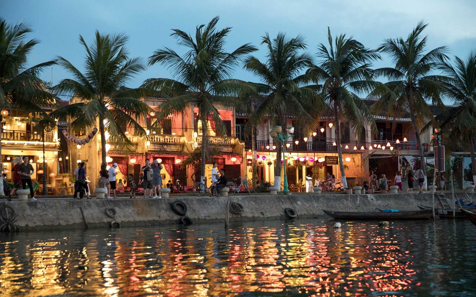 Hoi An, Vietnam waterfront