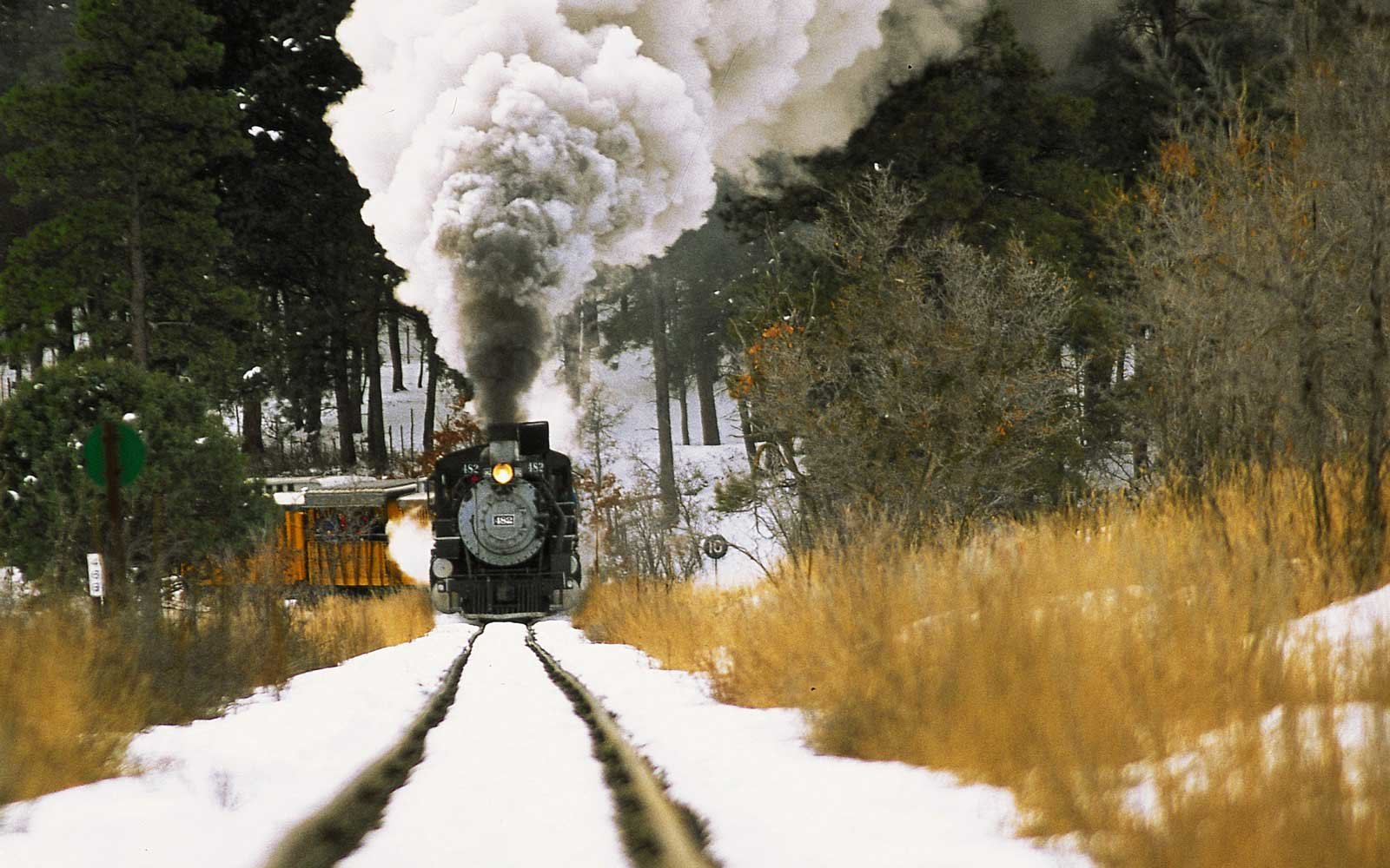 The Most Beautiful Winter Train Routes in North America