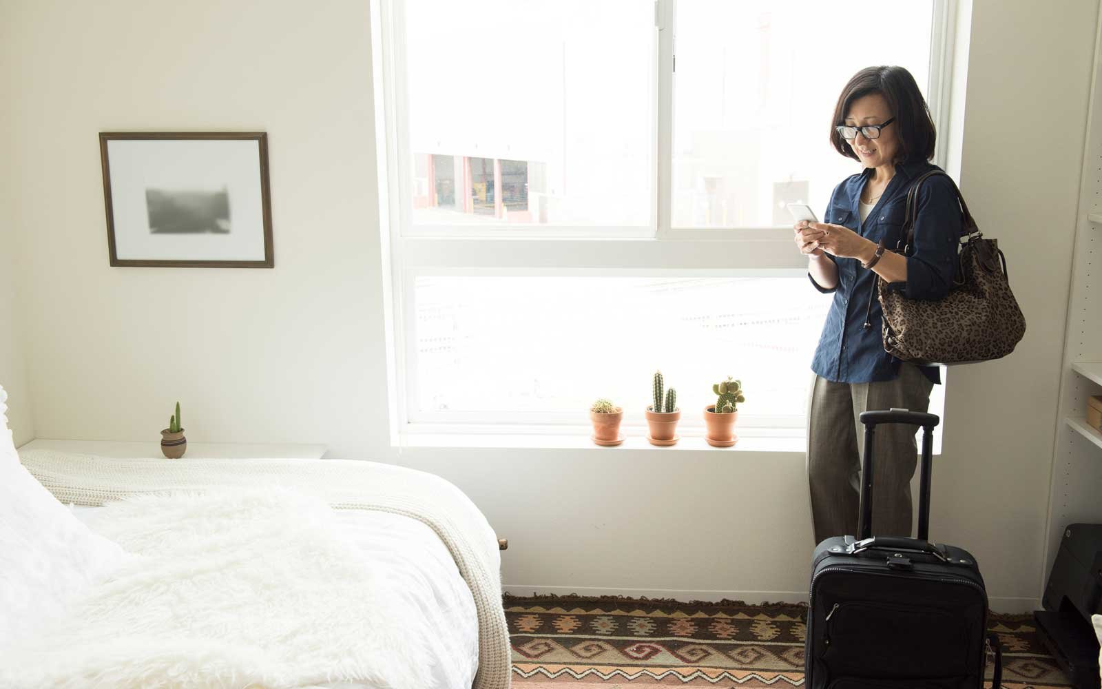 Booking hotel rooms