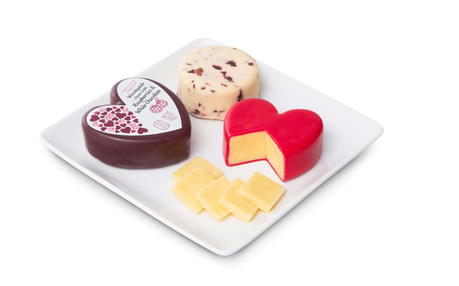 The Happy Farms Preferred Valentine's Day Cheese Assortment