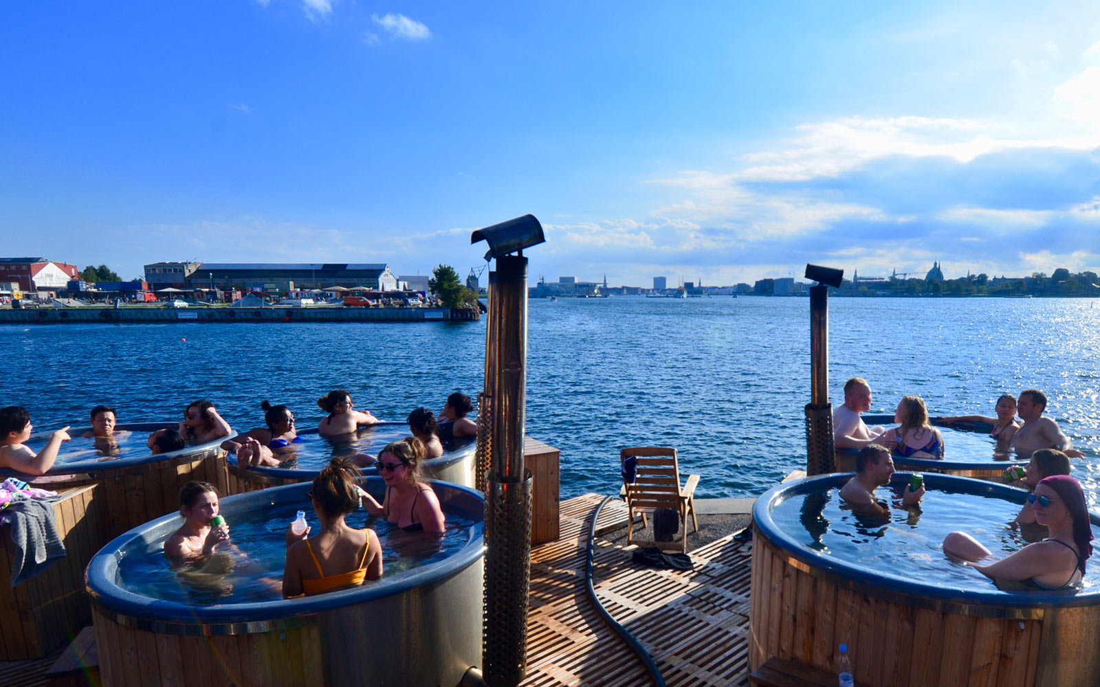 Take a Sailing Hot Tub Around the Harbour in Copenhagen, Denmark