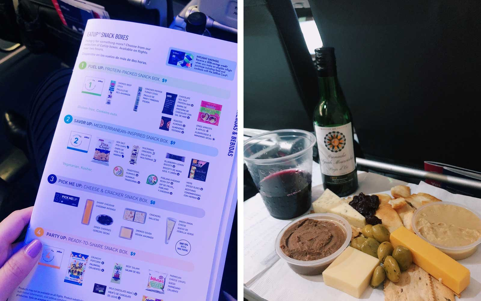 ThatCheesePlate - JetBlue Cheese Plate
