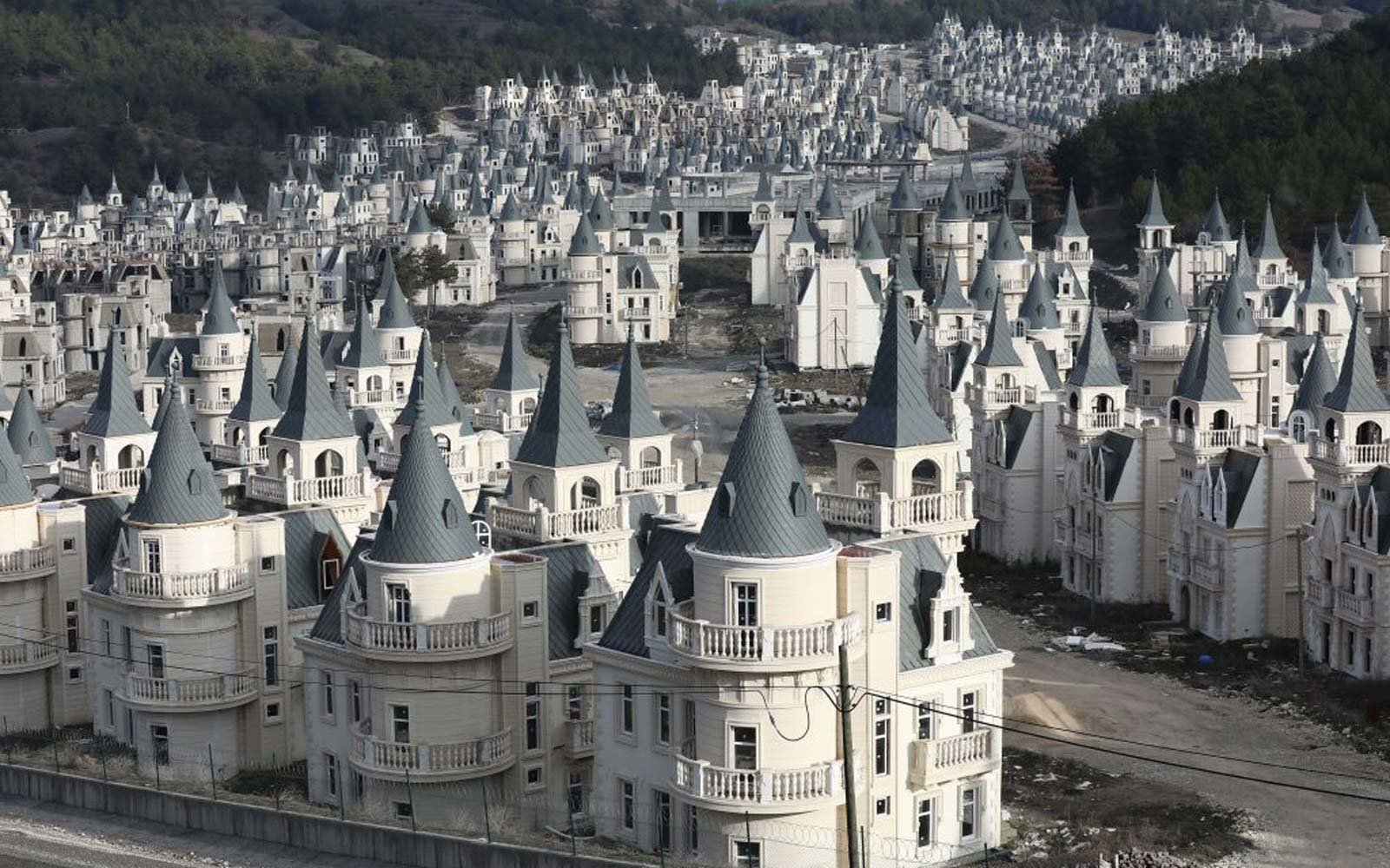 There's a $200-million Abandoned Village of Disney-like Castles in Turkey — Take a Look Inside