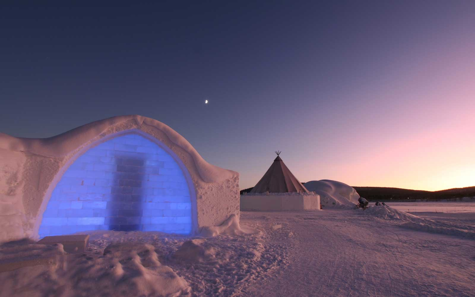 The Icehotel in Sweden provides a cool stay alongside a variety of northern light excursions.