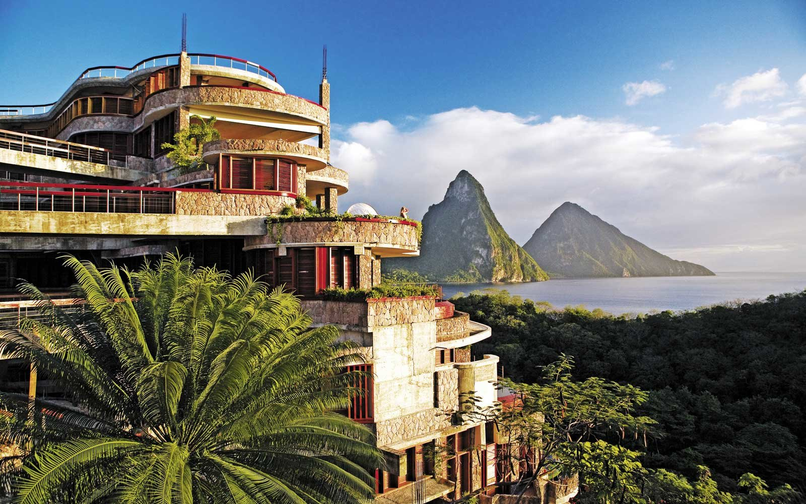 Top Romantic Resorts: Jade Mountain, St Lucia