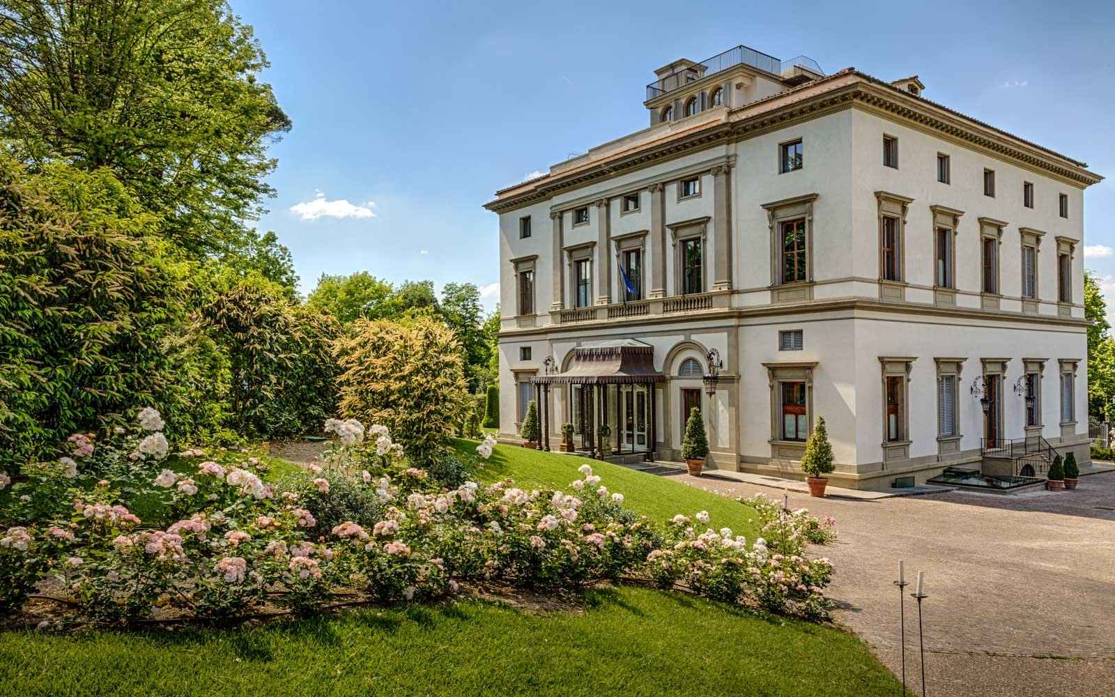 Top Romantic Hotels: Villa Cora, Florence, Italy