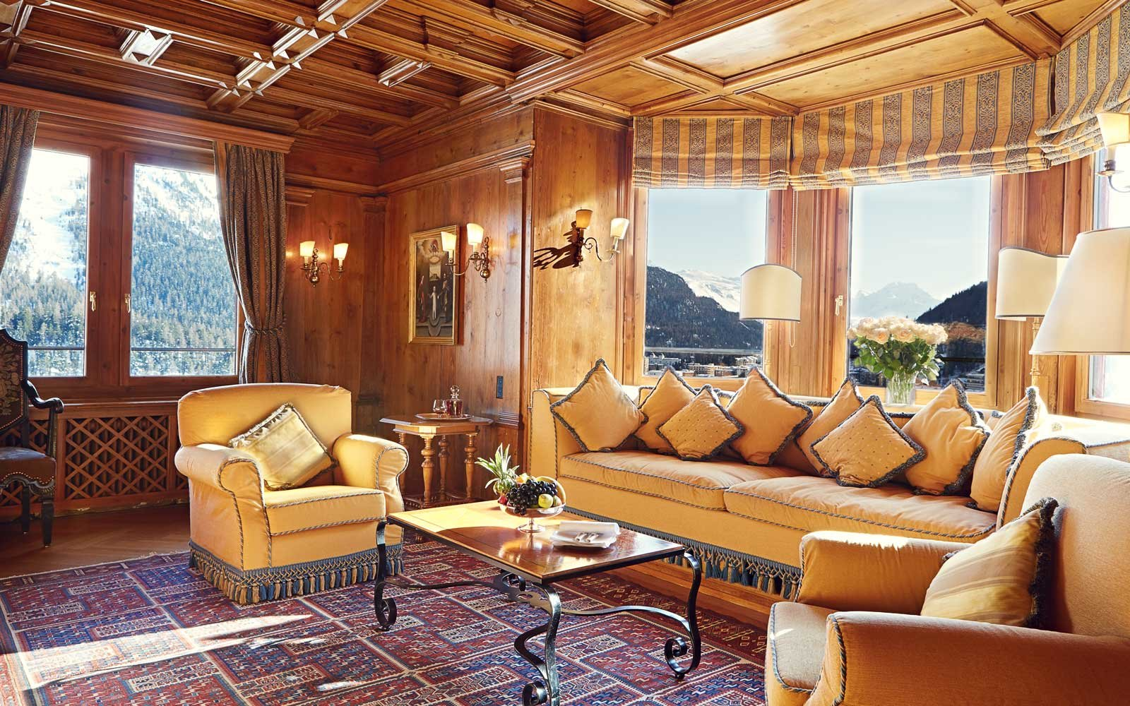 Top Romantic Hotels: Badrutt's Palace, Switzerland