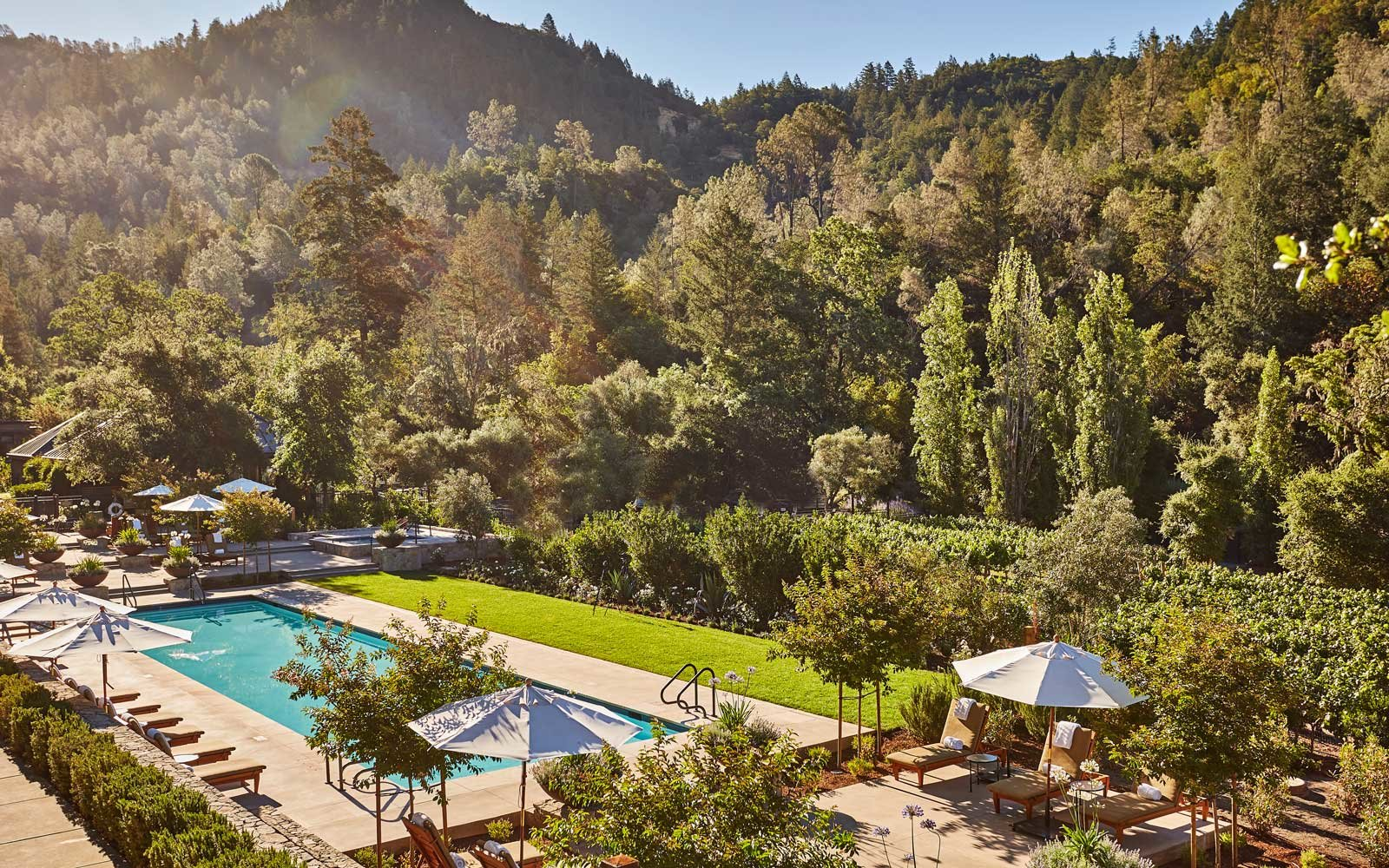 Top Romantic Hotels: Calistoga Ranch, California