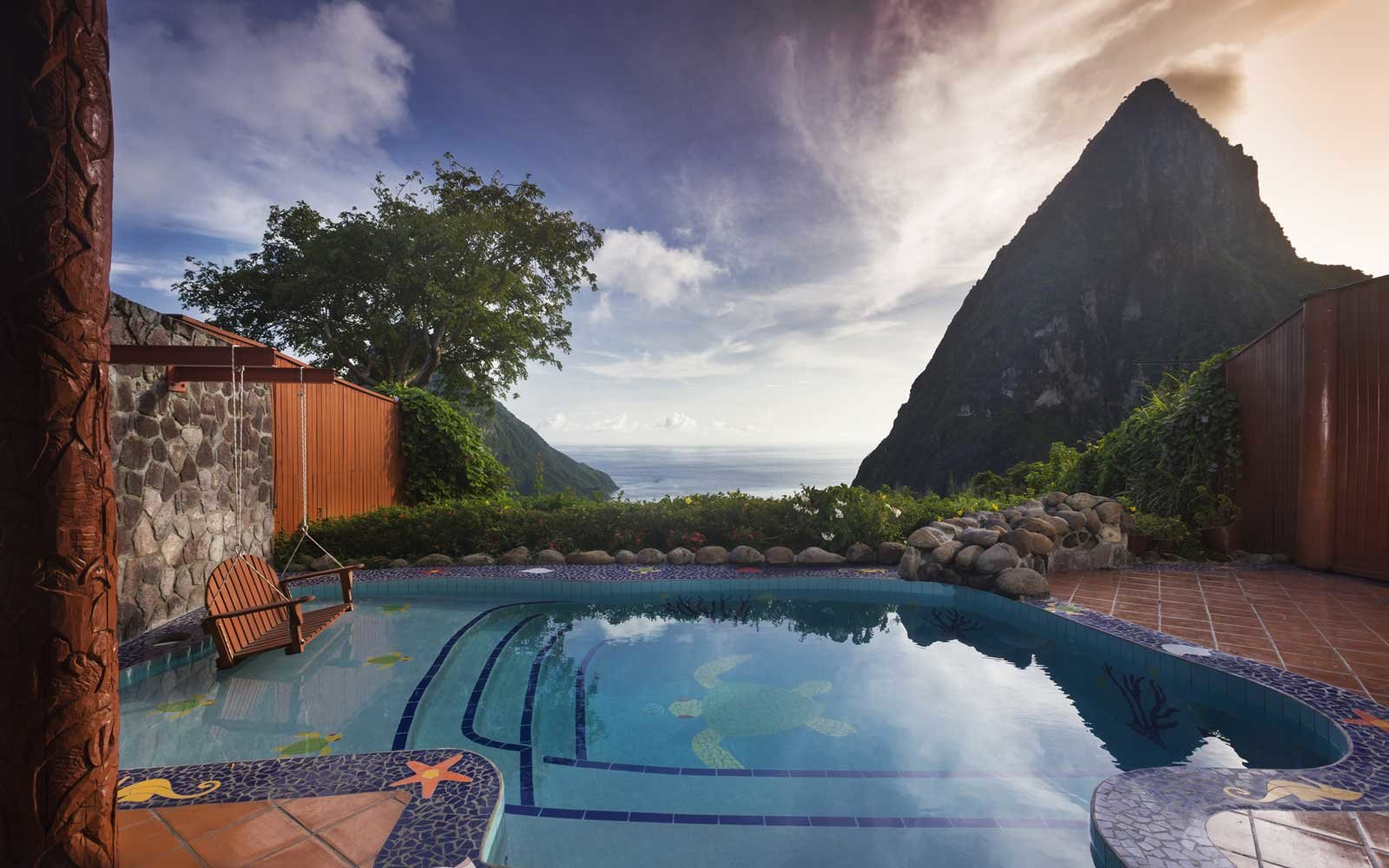 Top Romantic Hotels: Ladera Resort, St Lucia