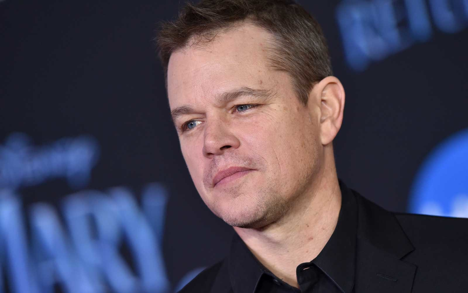 Matt Damon Had to Borr...