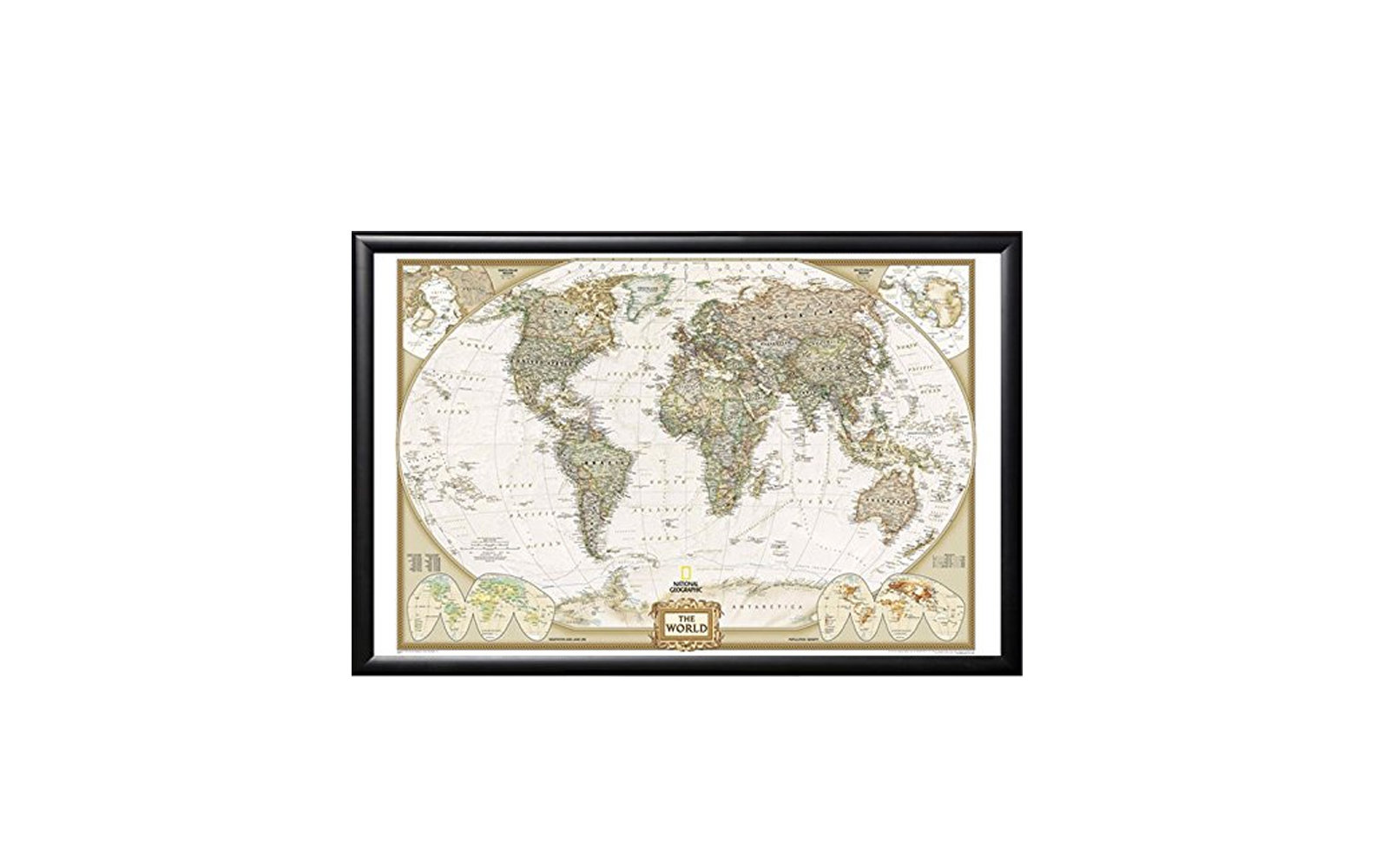 The Best World Map Wall Art For Showing Off Your Wanderlust Travel