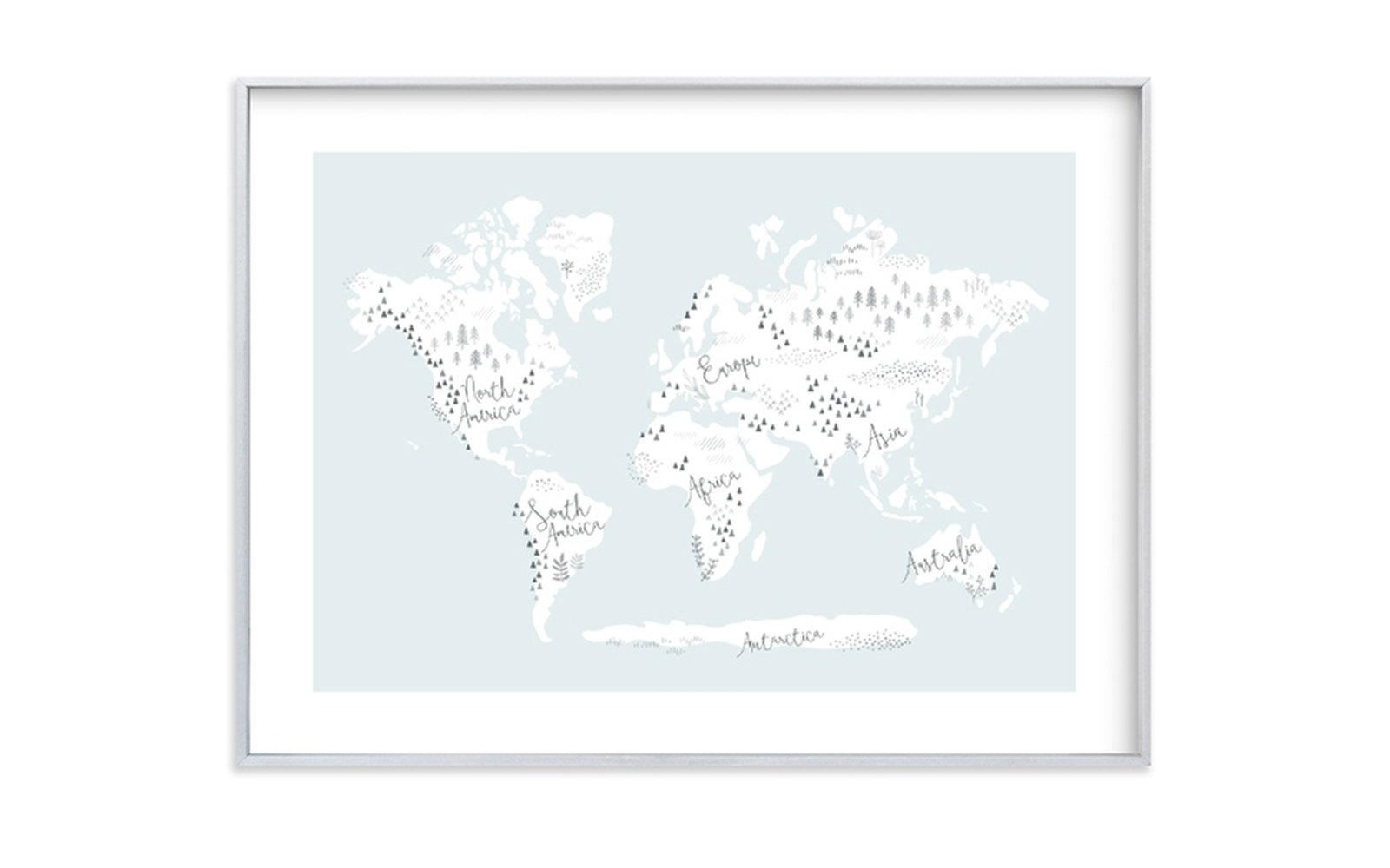 38e2c00227 Cool World Map Wall Art for Showing Off Your Wanderlust | Travel + ...